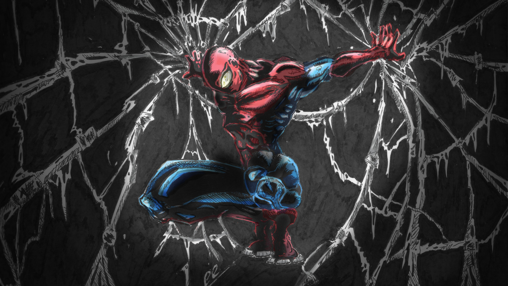 Download 1920x1080 Wallpaper Spider Man, Marvel Comics ...