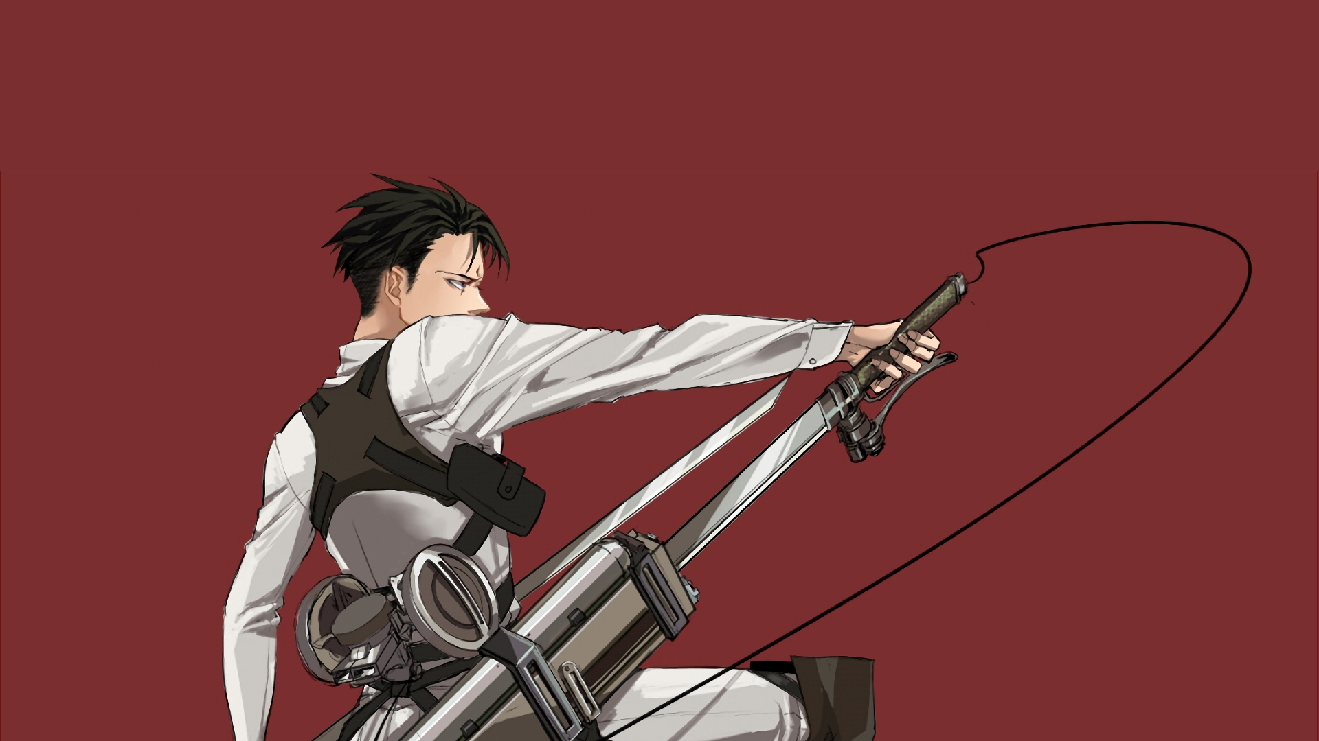 Desktop Wallpaper Attack On Titan Levi Ackerman Anime Hd Image Picture Background Z Esd9