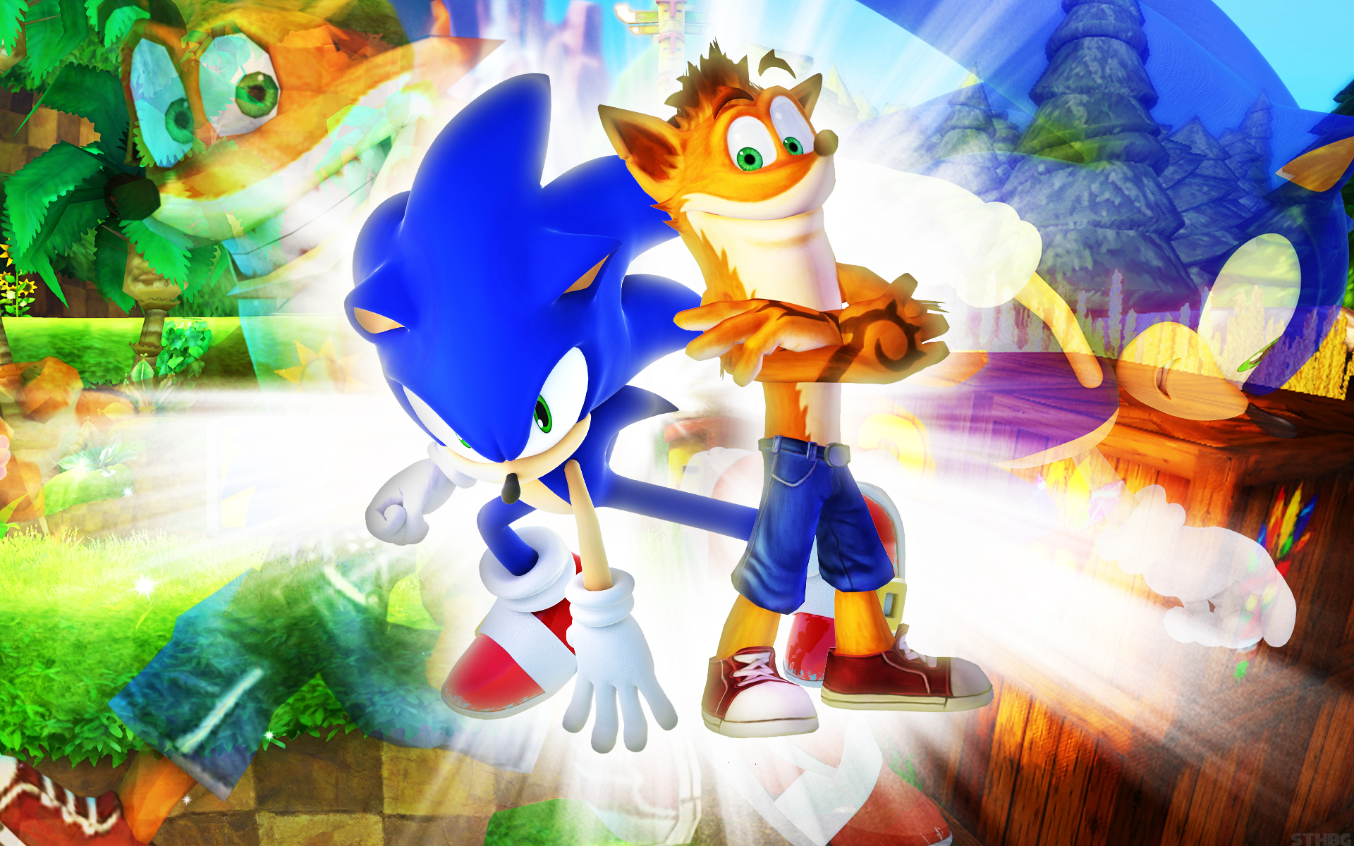 Desktop Wallpaper Sonic The Hedgehog Game Hd Image Picture Background B38627