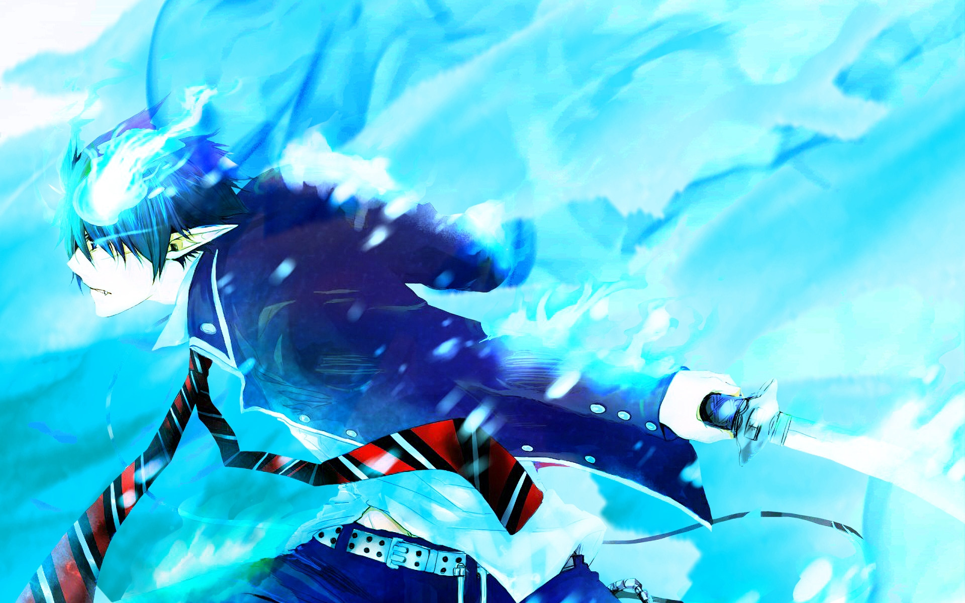 Blue exorcist download | Nonton Blue Exorcist: The Movie (Ao no
