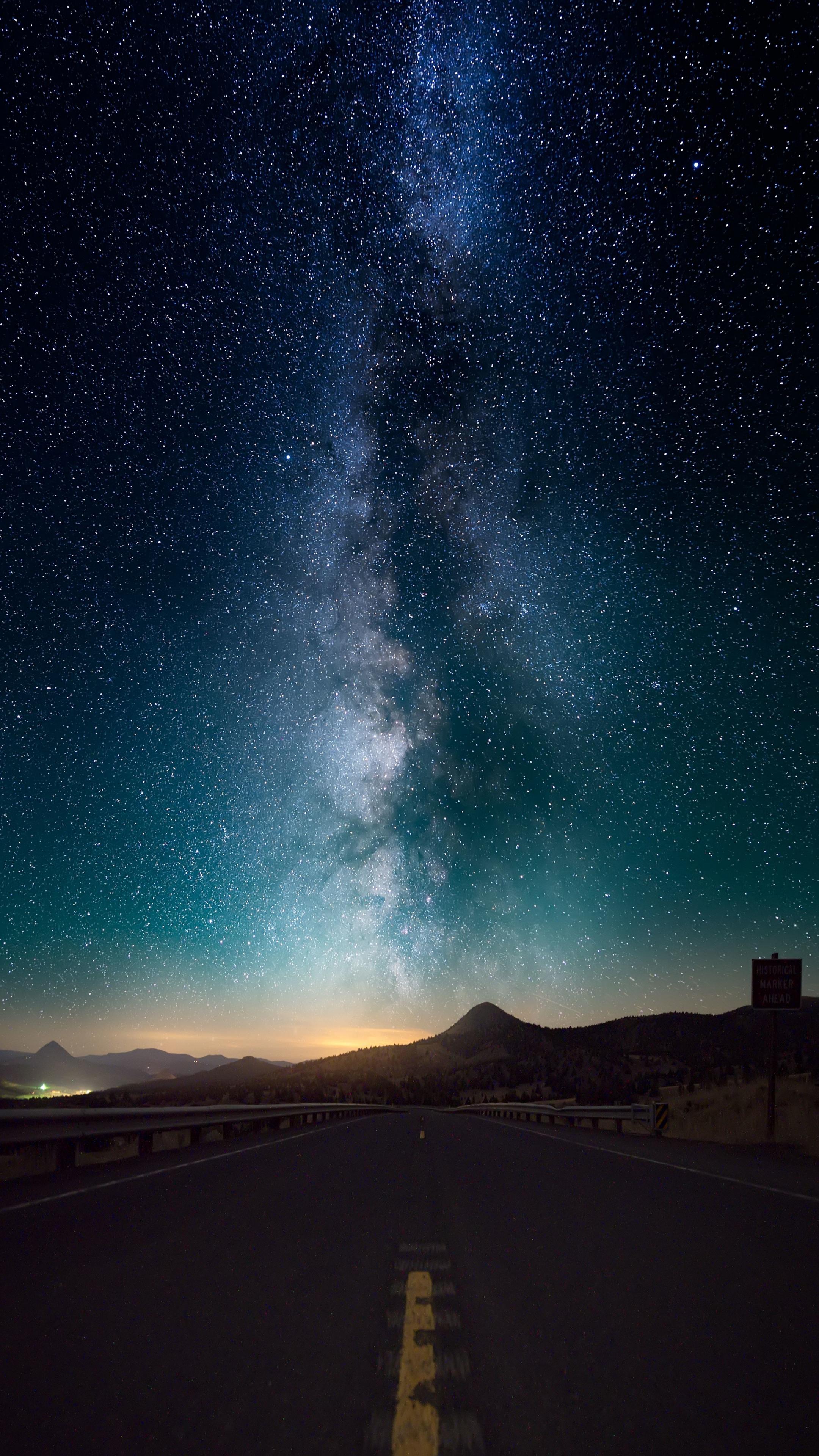 2160 x 3840 wallpaper - Starry sky 4k ...