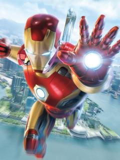 Download 240x320 Wallpaper Iron Man, Experience, Hong Kong