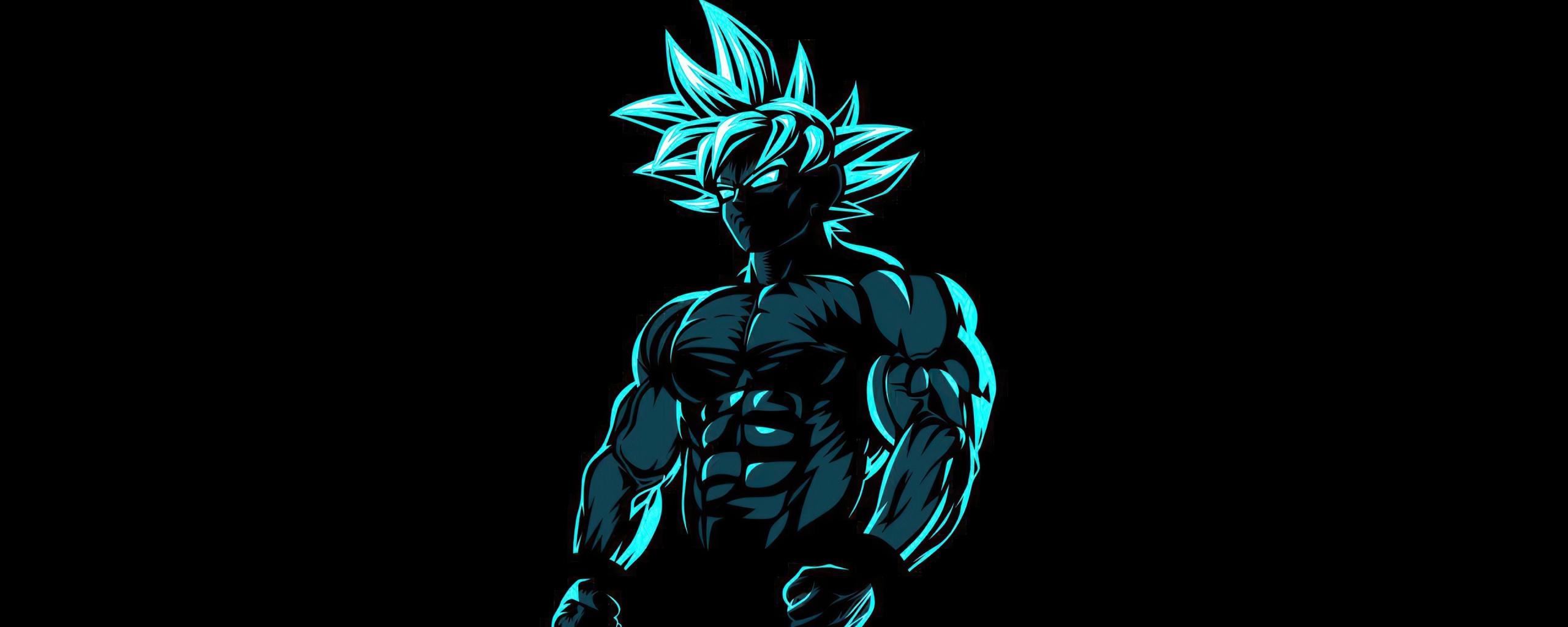 Desktop Wallpaper Anime Beast Goku Dark Hd Image Picture Background 303ae8