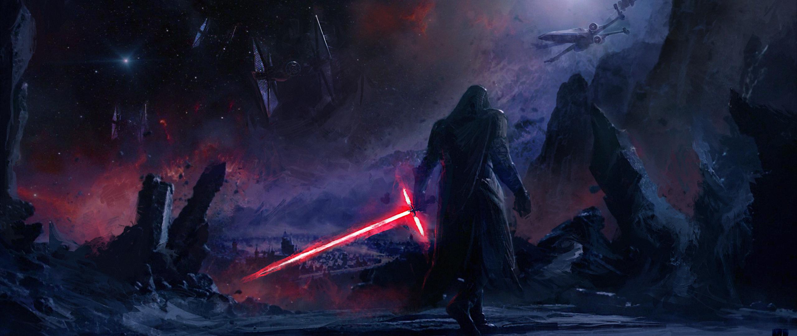 Desktop Wallpaper Kylo Ren Villain Star Wars Artwork 4k Hd Image Picture Background 5eeb9f