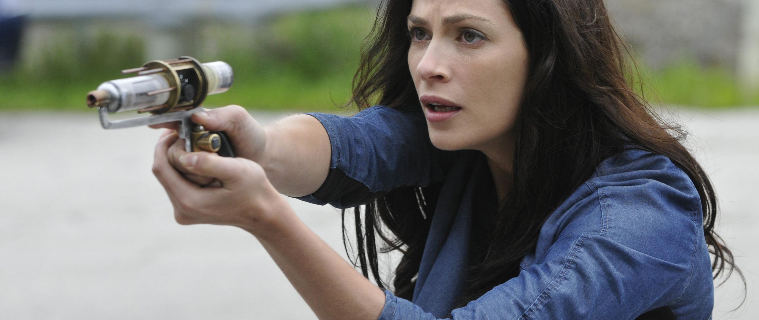2560x1080 wallpaper Actress, Joanne Kelly, Warehouse 13 TV series