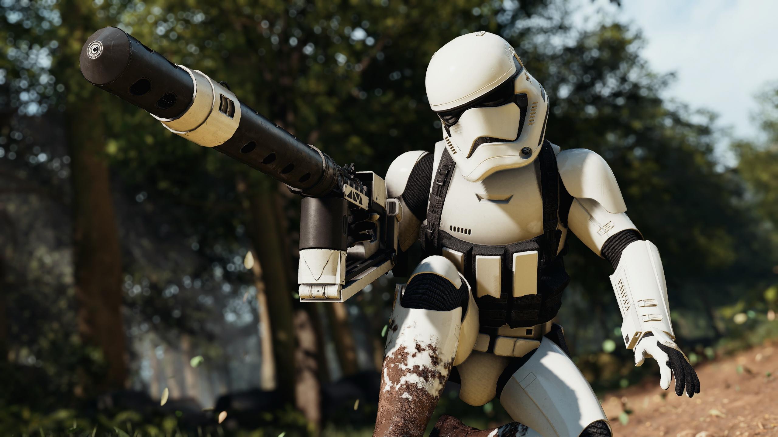Desktop Wallpaper Star Wars Battlefront Ii Video Game Stormtrooper Game 4k Hd Image Picture Background 09caf5
