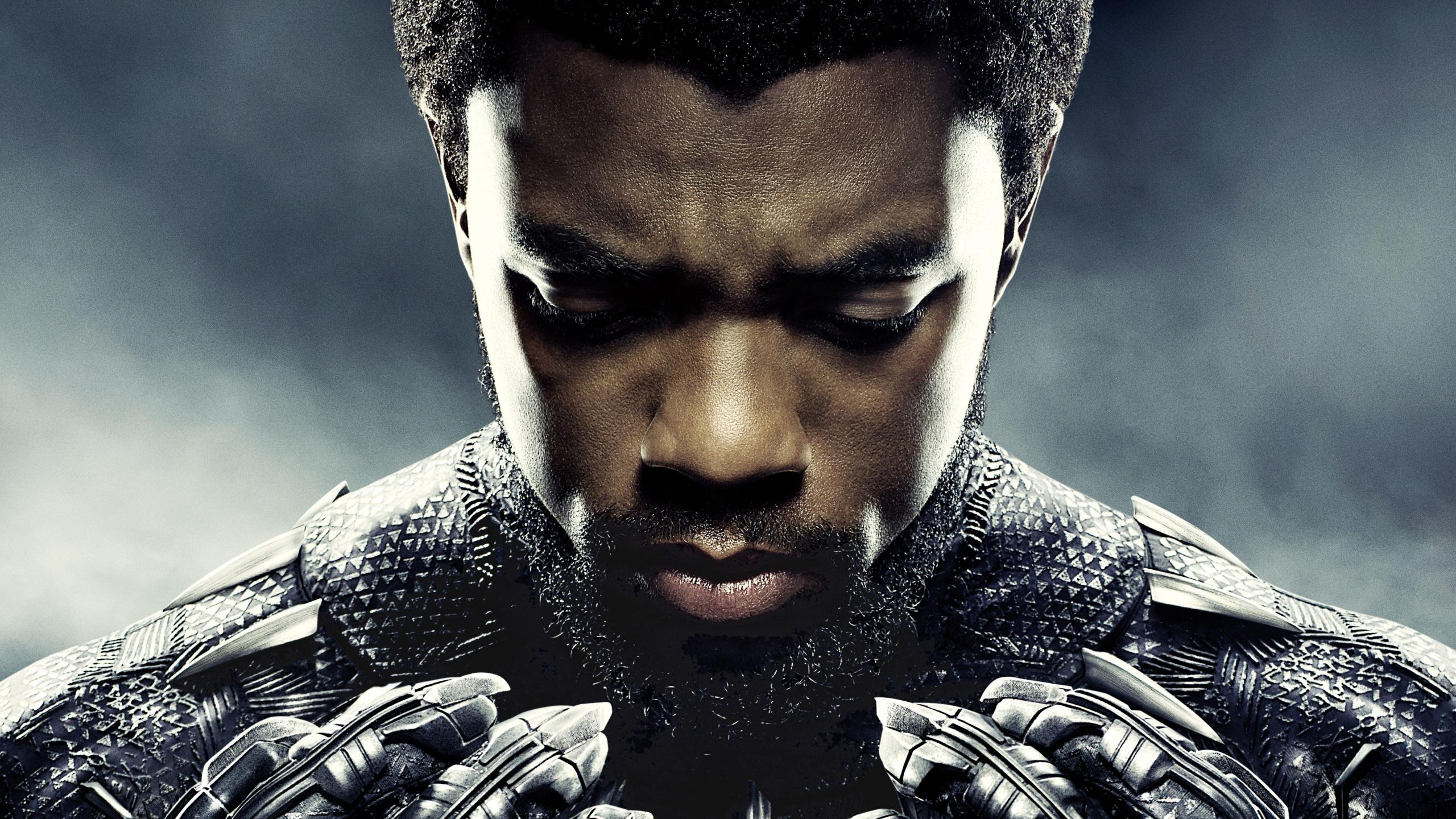 Desktop Wallpaper Black Panther Movie Chadwick Boseman 2018 Movie Superhero 5k Hd Image Picture Background 34ab1c