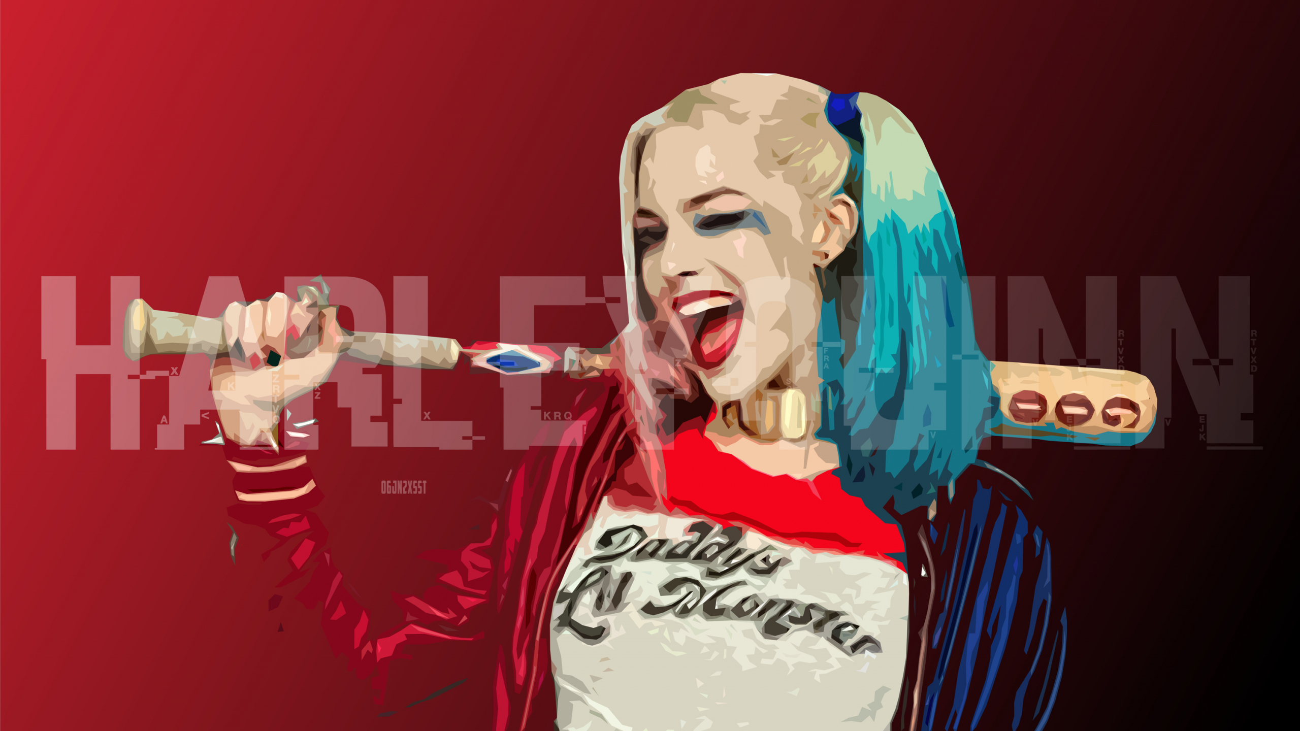 Desktop Wallpaper Harley Quinn Margot Robbie Art Hd Image Picture Background Xpnw