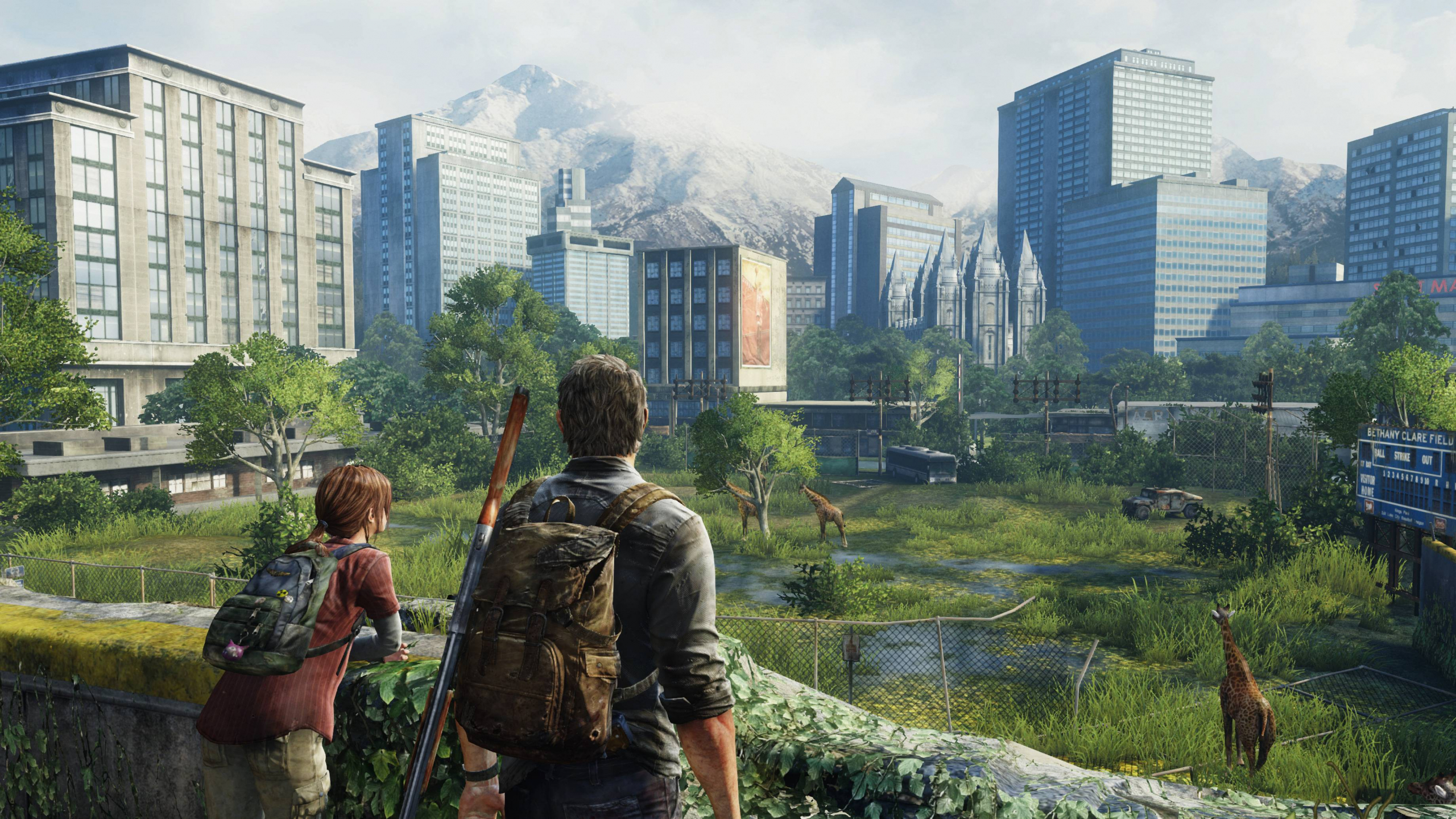 Download 2560x1440 Wallpaper The Last Of Us Remastered Ps4 Video