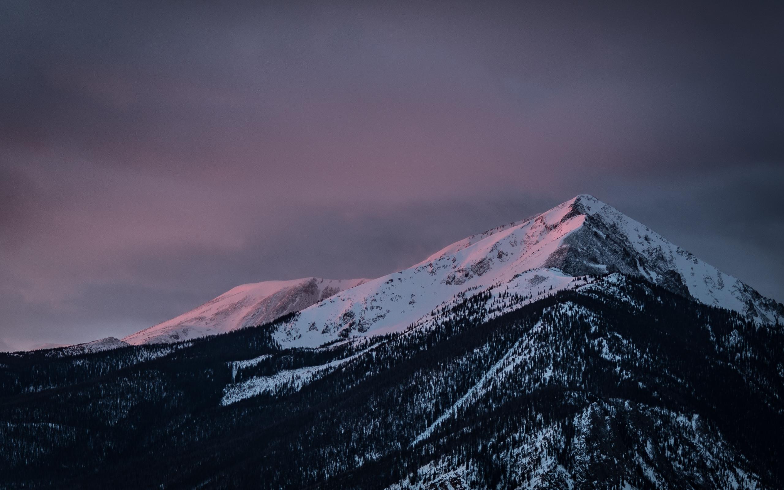 Desktop Wallpaper Snow Mountains Clean Sky Nature 4k Hd Image Picture Background 3d4192