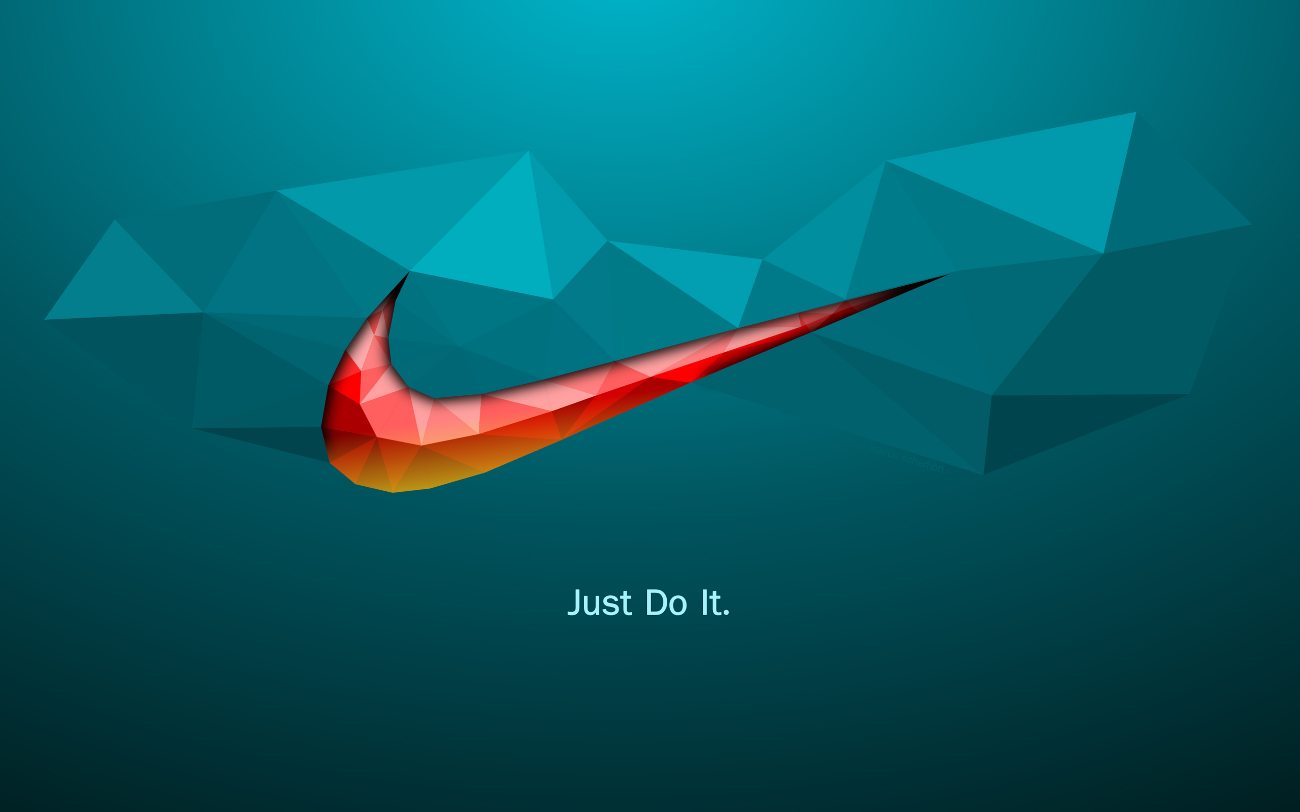 2560x1600 wallpaper Just do it, quotes, Nike, logo, abstract