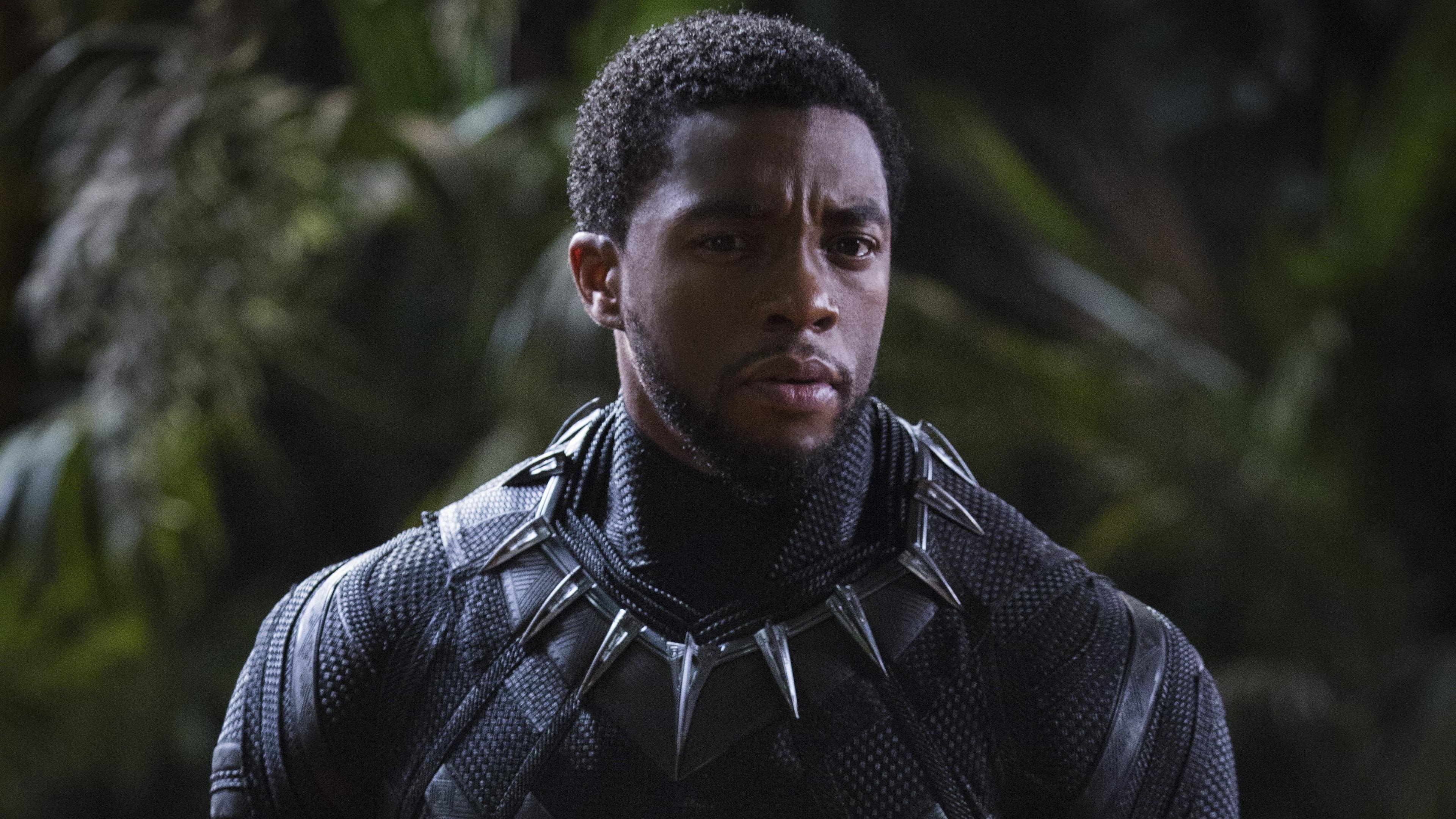 Desktop Wallpaper Chadwick Boseman Black Panther 2018 Movie 4k Hd Image Picture Background 241abf