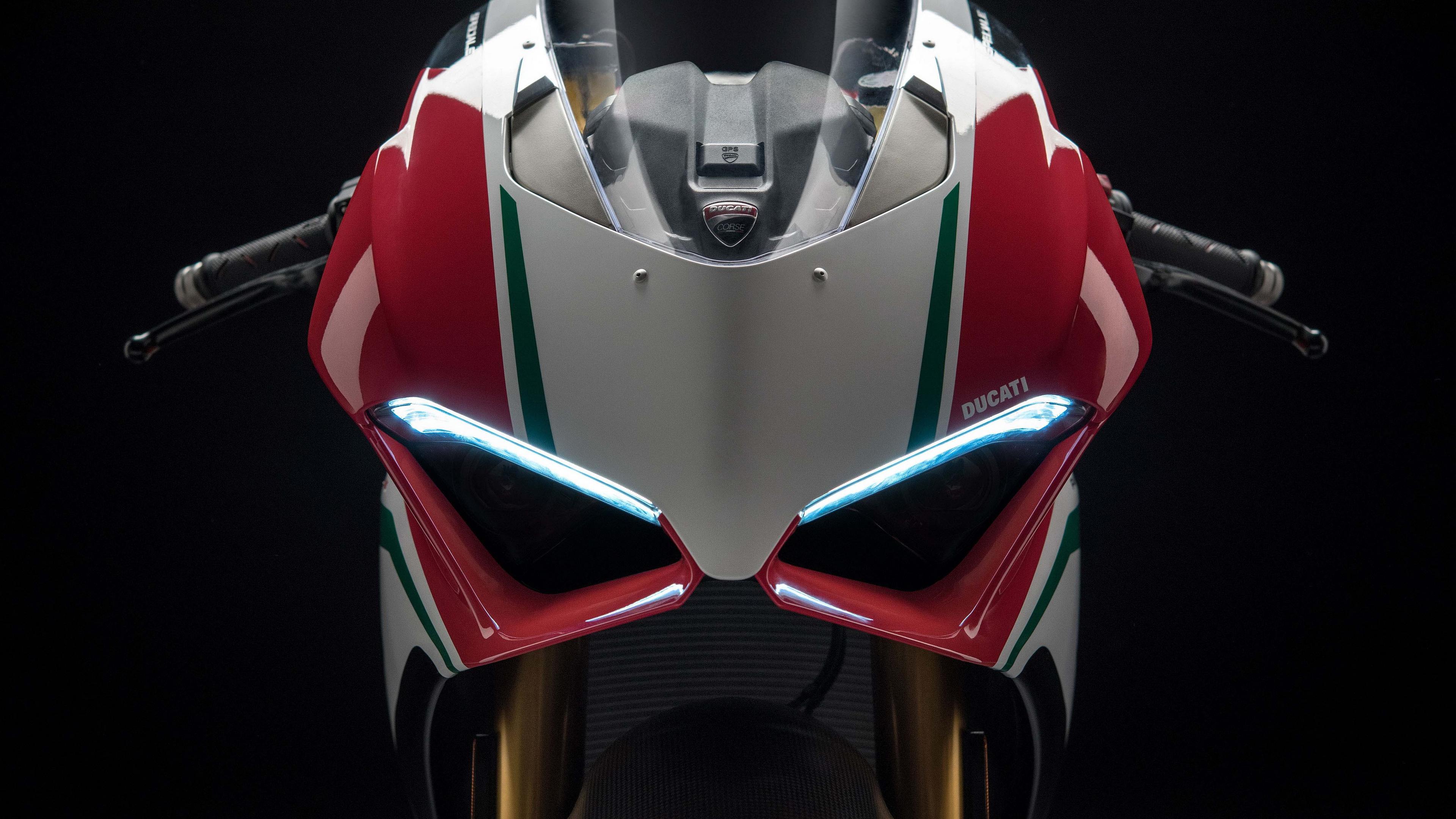 3840x2160 wallpaper 2018 Ducati Panigale V4, superbike, 4k