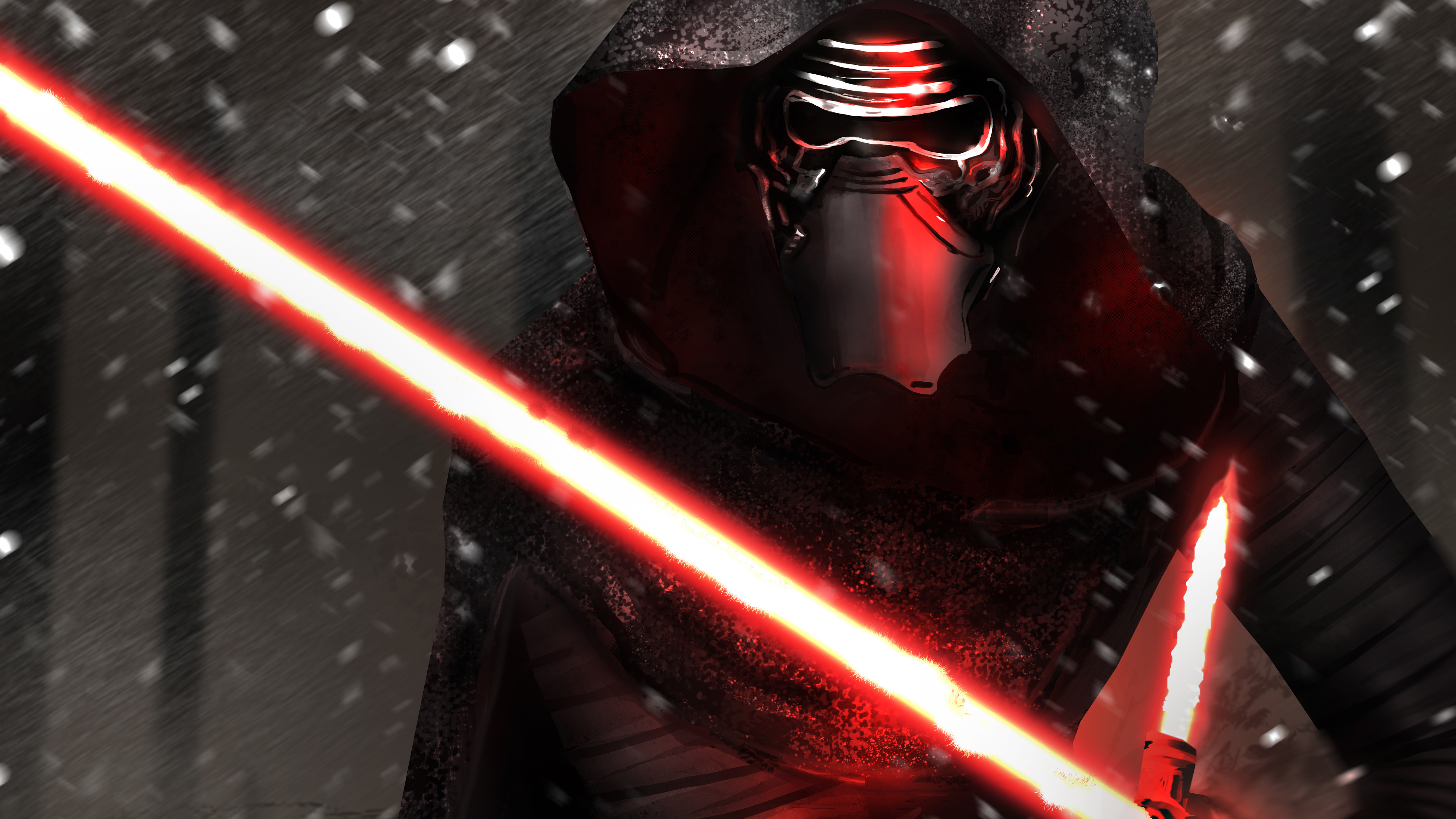 Desktop Wallpaper Kylo Ren Star Wars Villain Artwork 4k Hd Image Picture Background 5e361f