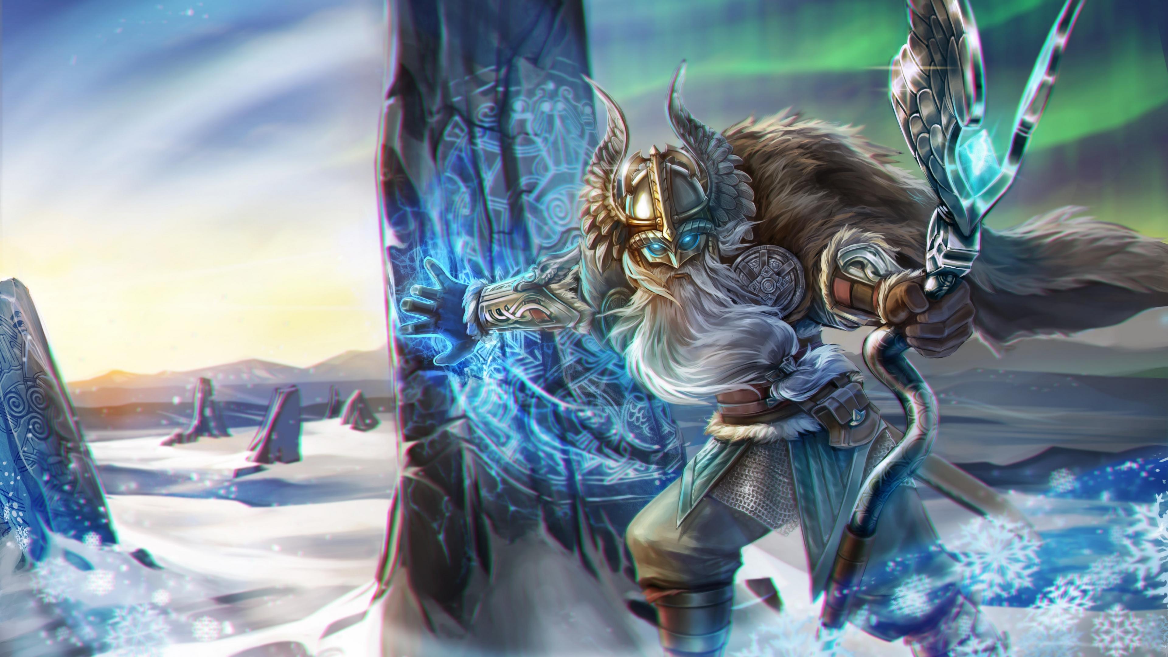 Desktop Wallpaper Viking Reim Vainglory Warrior 4k Hd Image Picture Background 976bb9