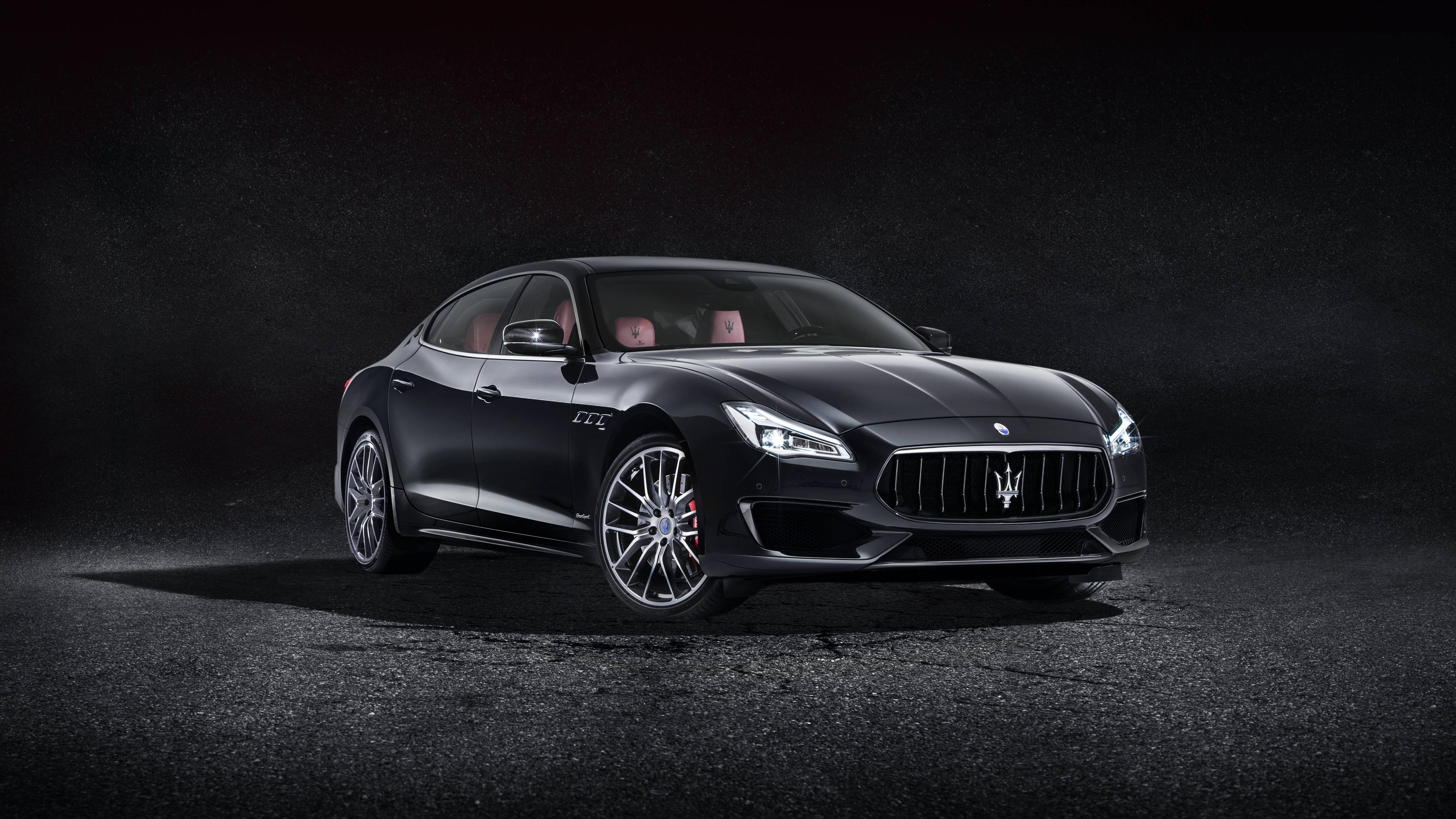 Download 3840x2160 Wallpaper 2017 Black Maserati