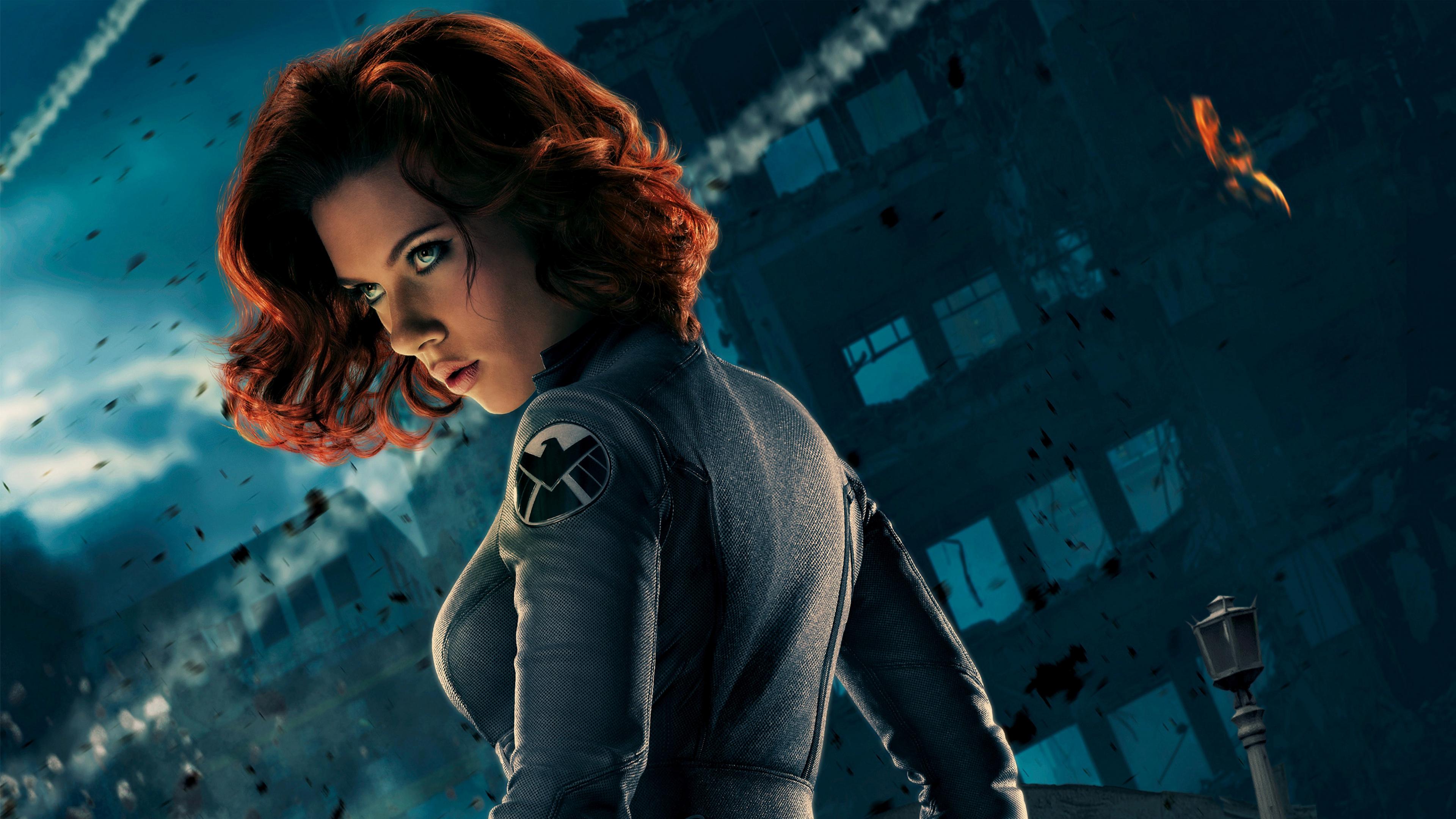 Download 3840x2160 Wallpaper Scarlett Johansson Red Head As Black Widow 4 K Uhd 16 9 Widescreen 3840x2160 Hd Image Background 16551