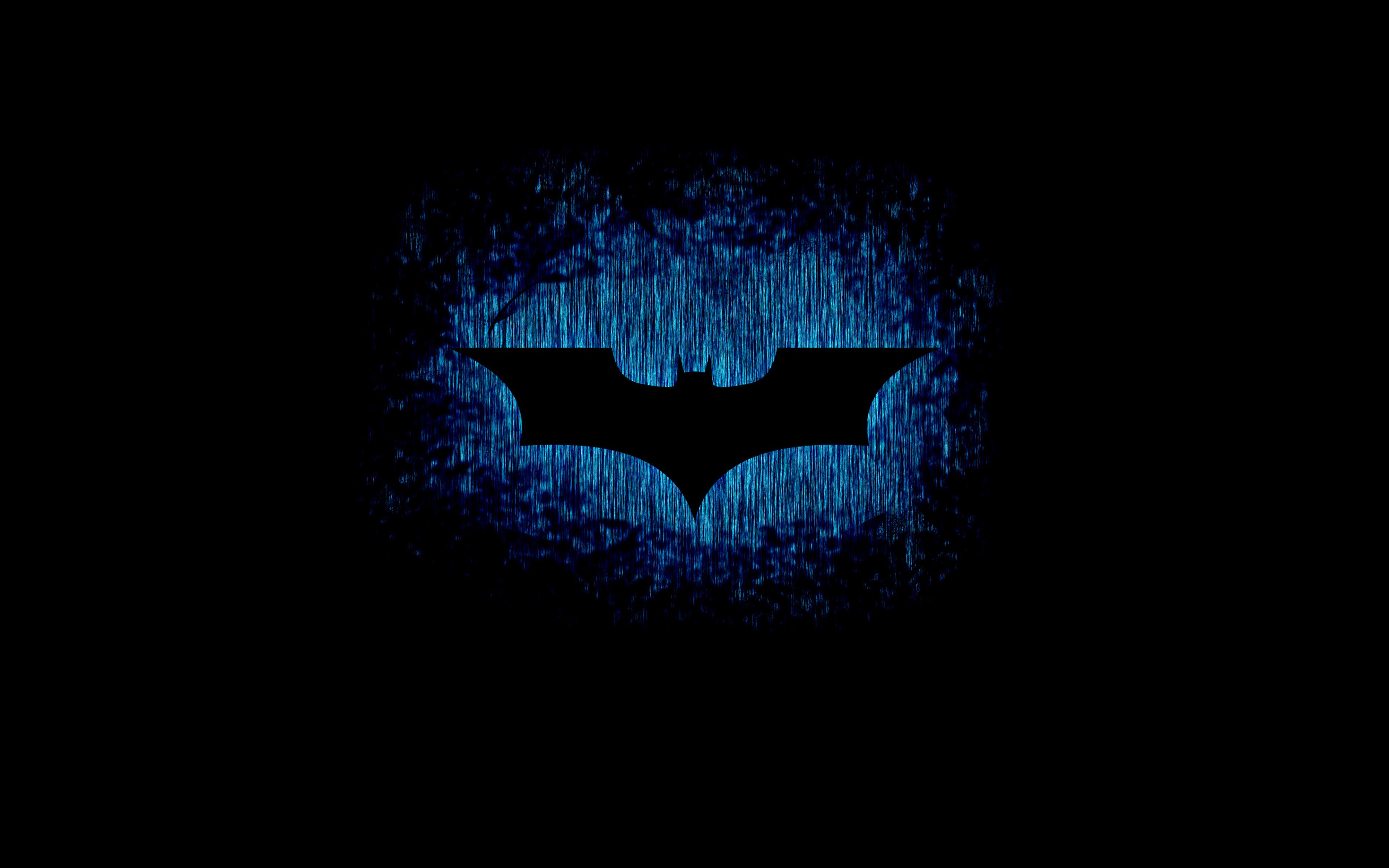 Download 3840x2400 Wallpaper Batman Sign Logo Dark