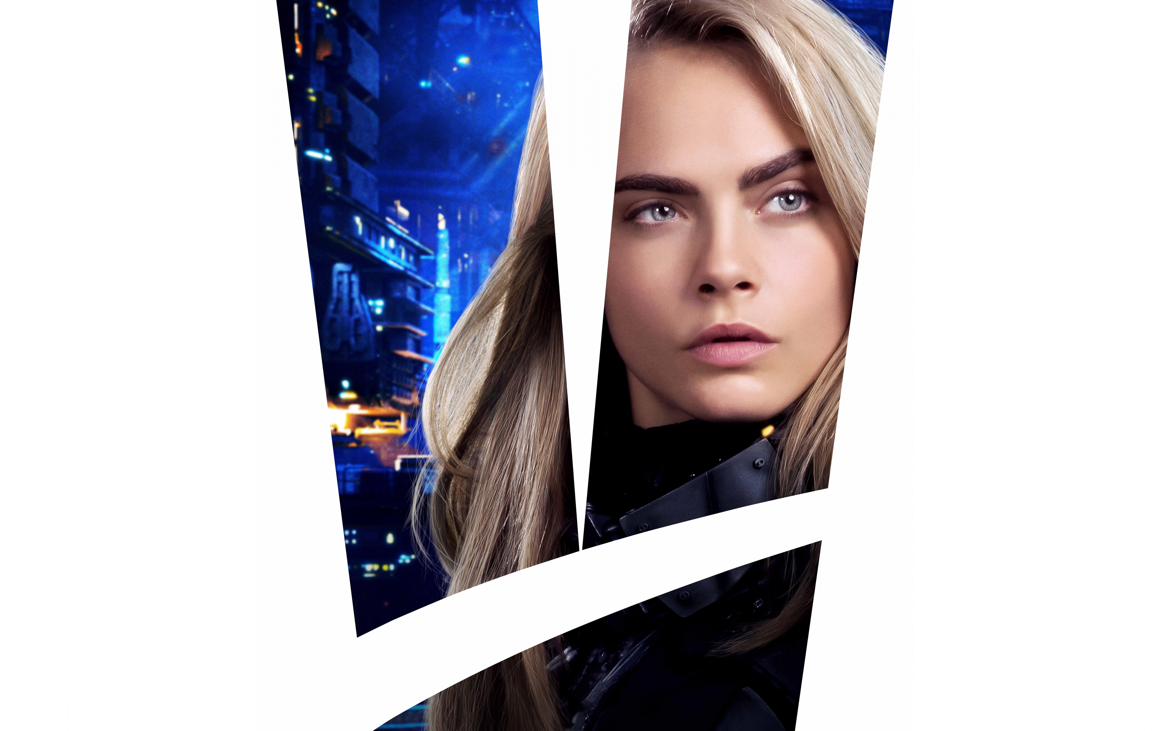 Desktop Wallpaper Cara Delevingne As Laureline In Valerian And The City Of A Thousand Planets Movie Actress Hd Image Picture Background Jweqh6