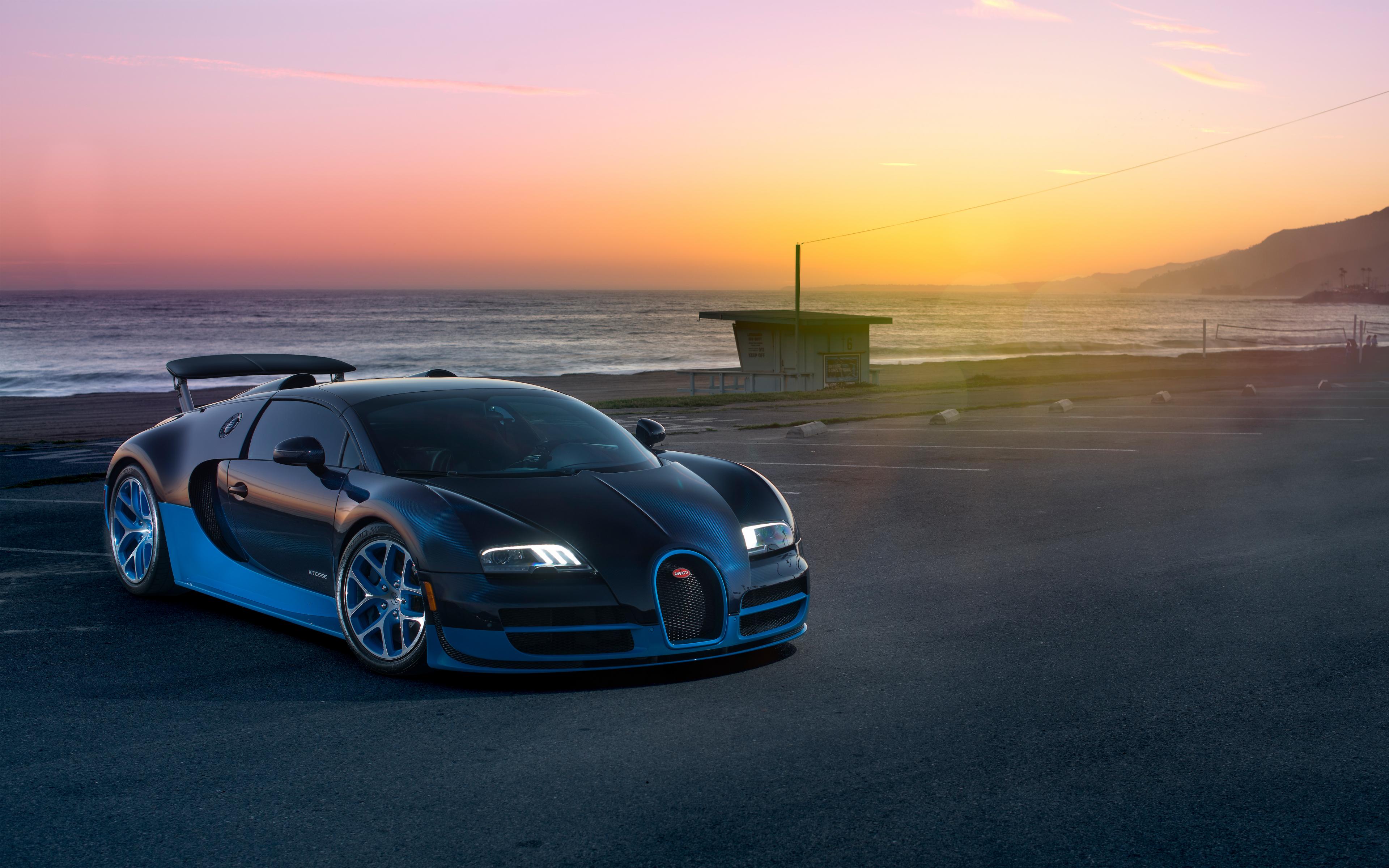 Download 3840x2400 Wallpaper Bugatti Veyron Grand Sport Vitesse Car