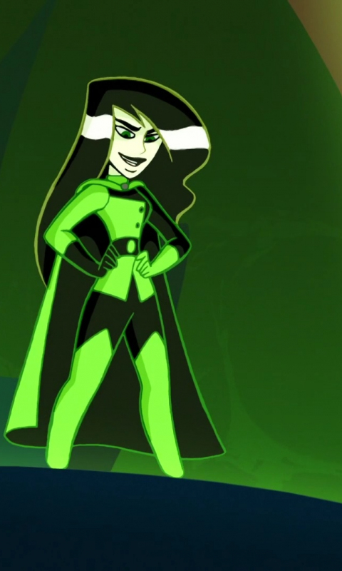 Download 480x800 Wallpaper Shego, Kim Possible, Tv Series