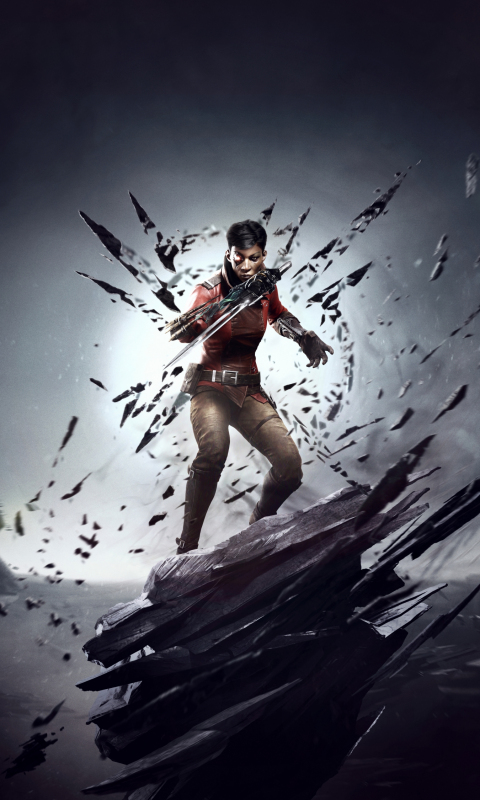 480x800 wallpaper Dishonored: Death Of The Outsider, 2017 game, video game