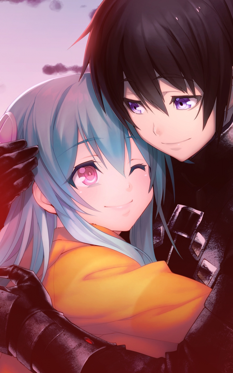 Wallpaper Anime Couple Hd Android