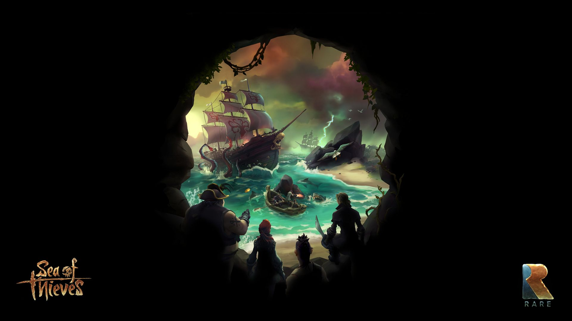 Sea of Thieves, Video game, pirates