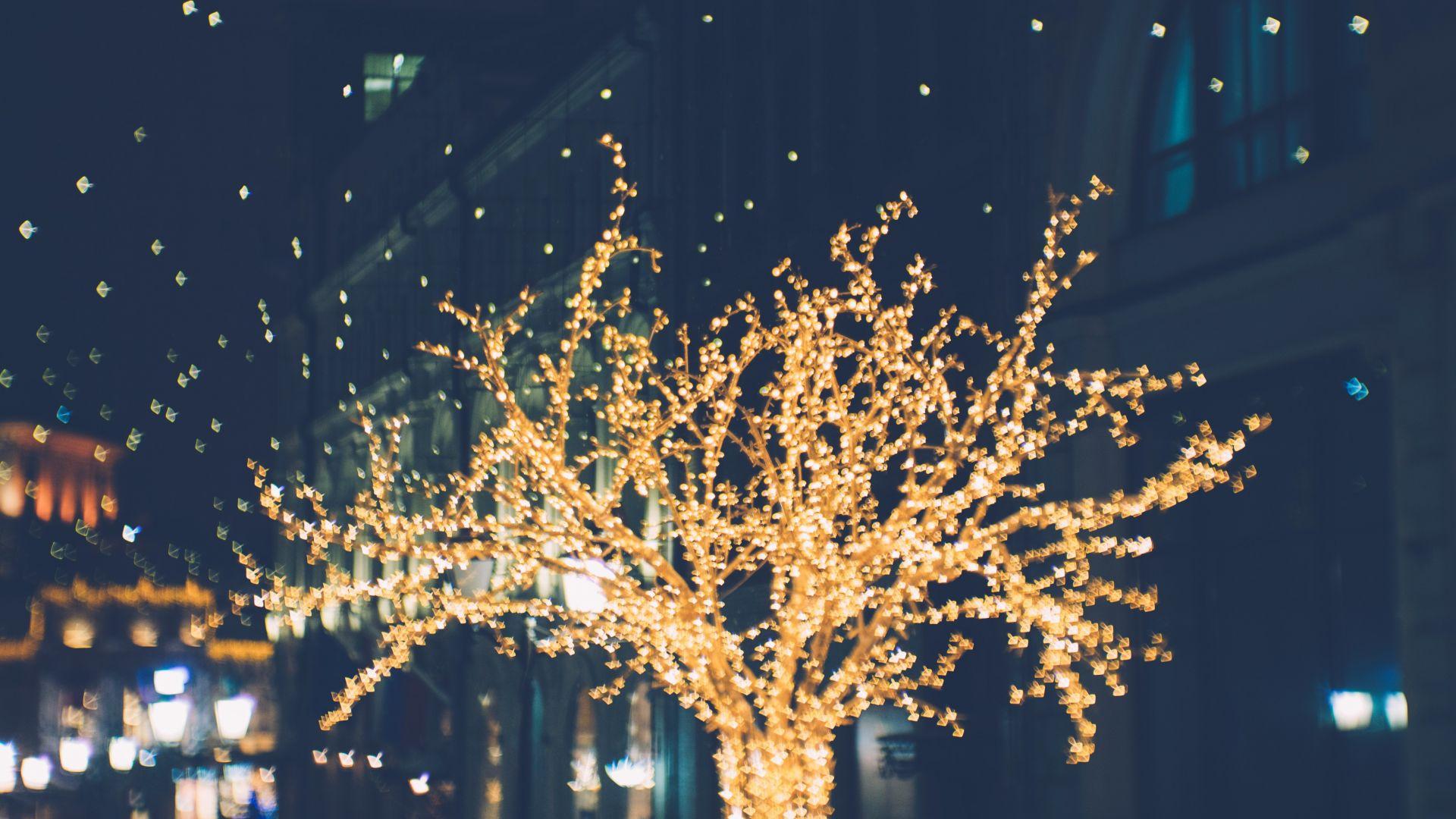 Wallpaper Decorations, lights, night