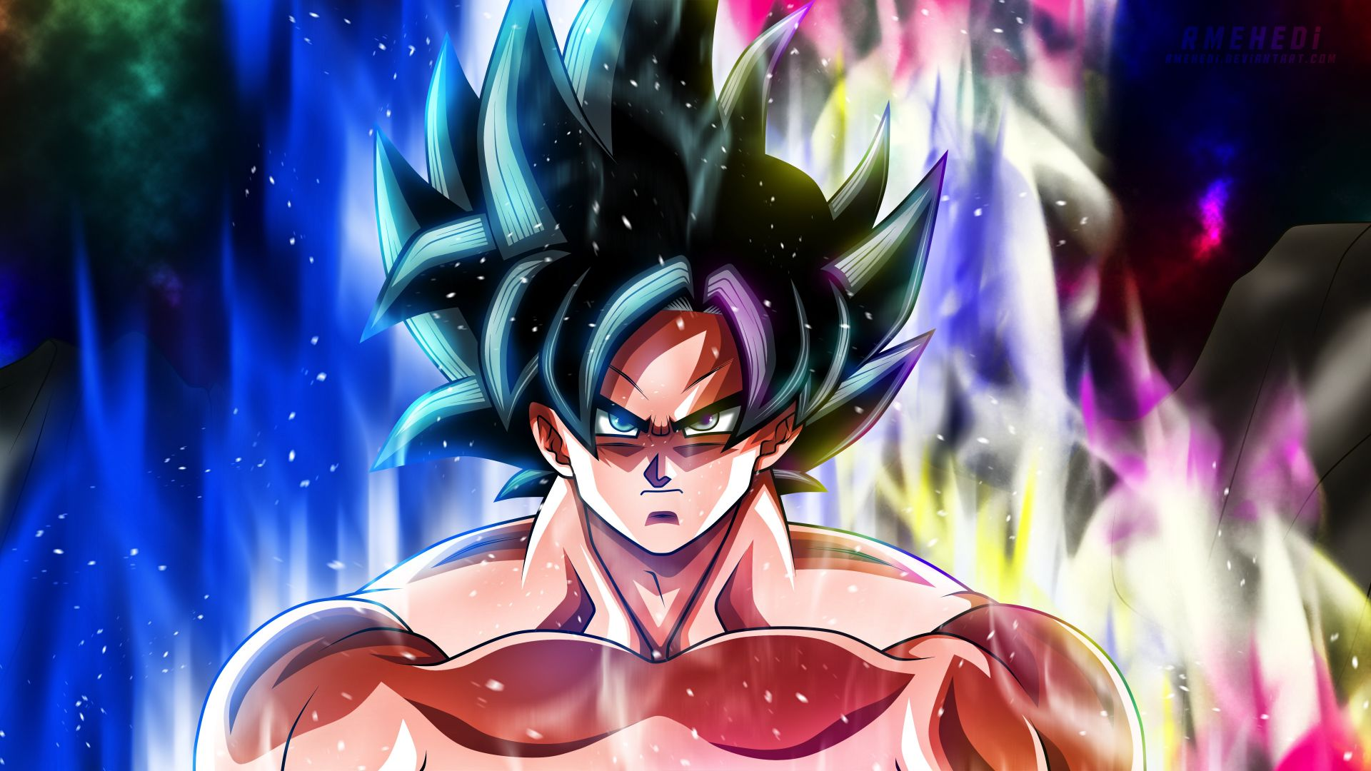 Desktop Wallpaper Angry Goku Anime Dragon Ball Super Hd Image Picture Background 05197a