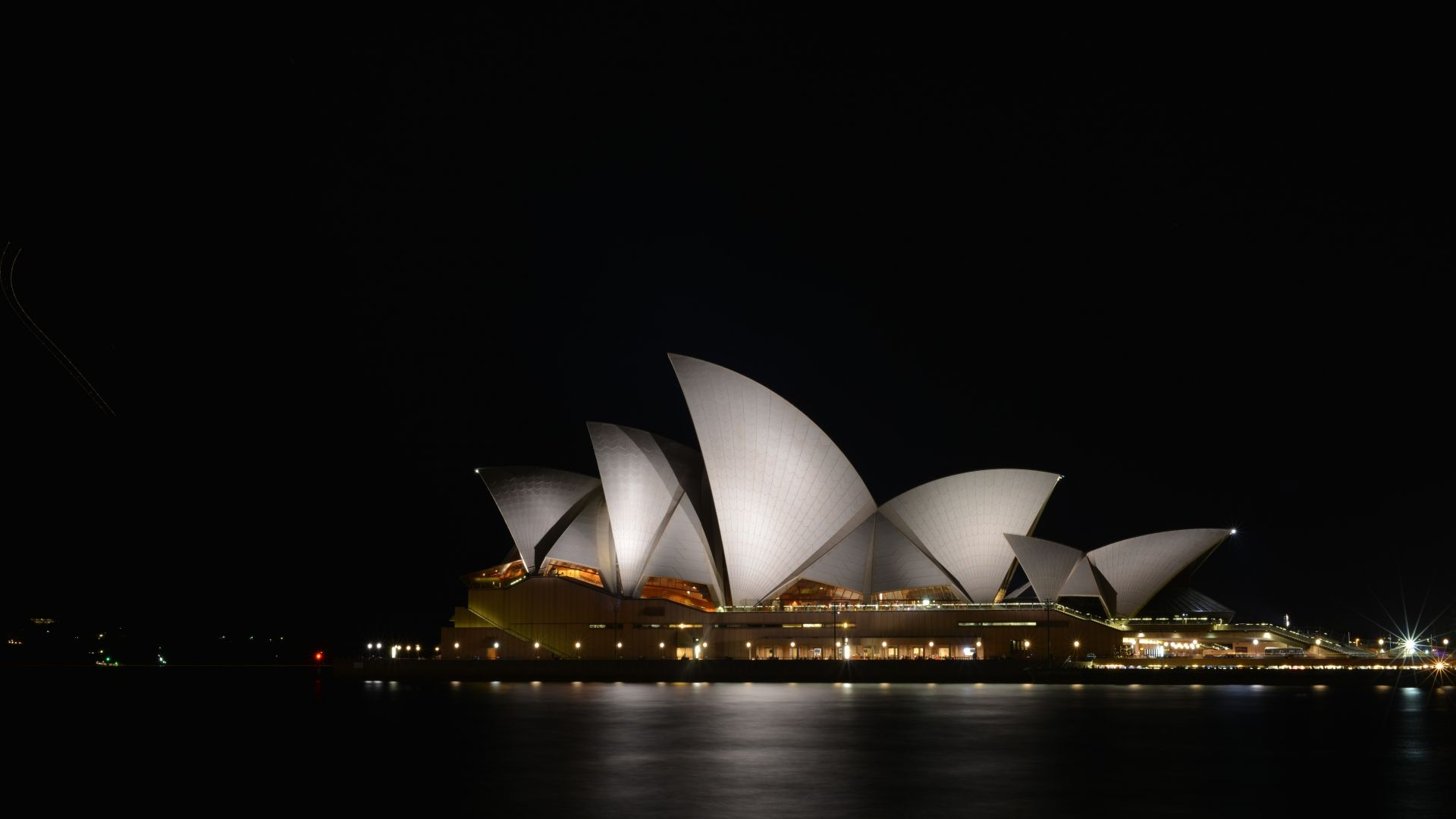 Wallpaper Sydney Opera House, architecture, night, Sydney