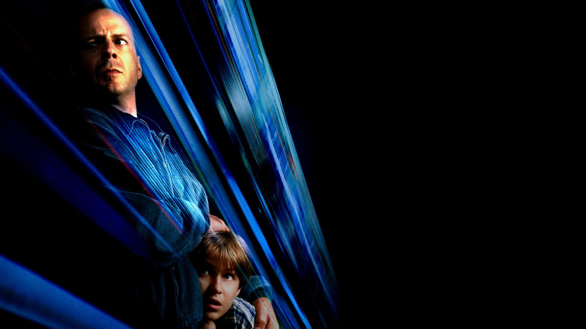 Wallpaper Mercury Rising 1998 movie, Bruce Willis, actor, dark