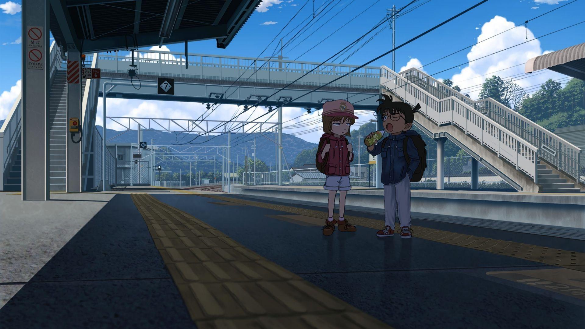 Wallpaper Detective Conan, anime