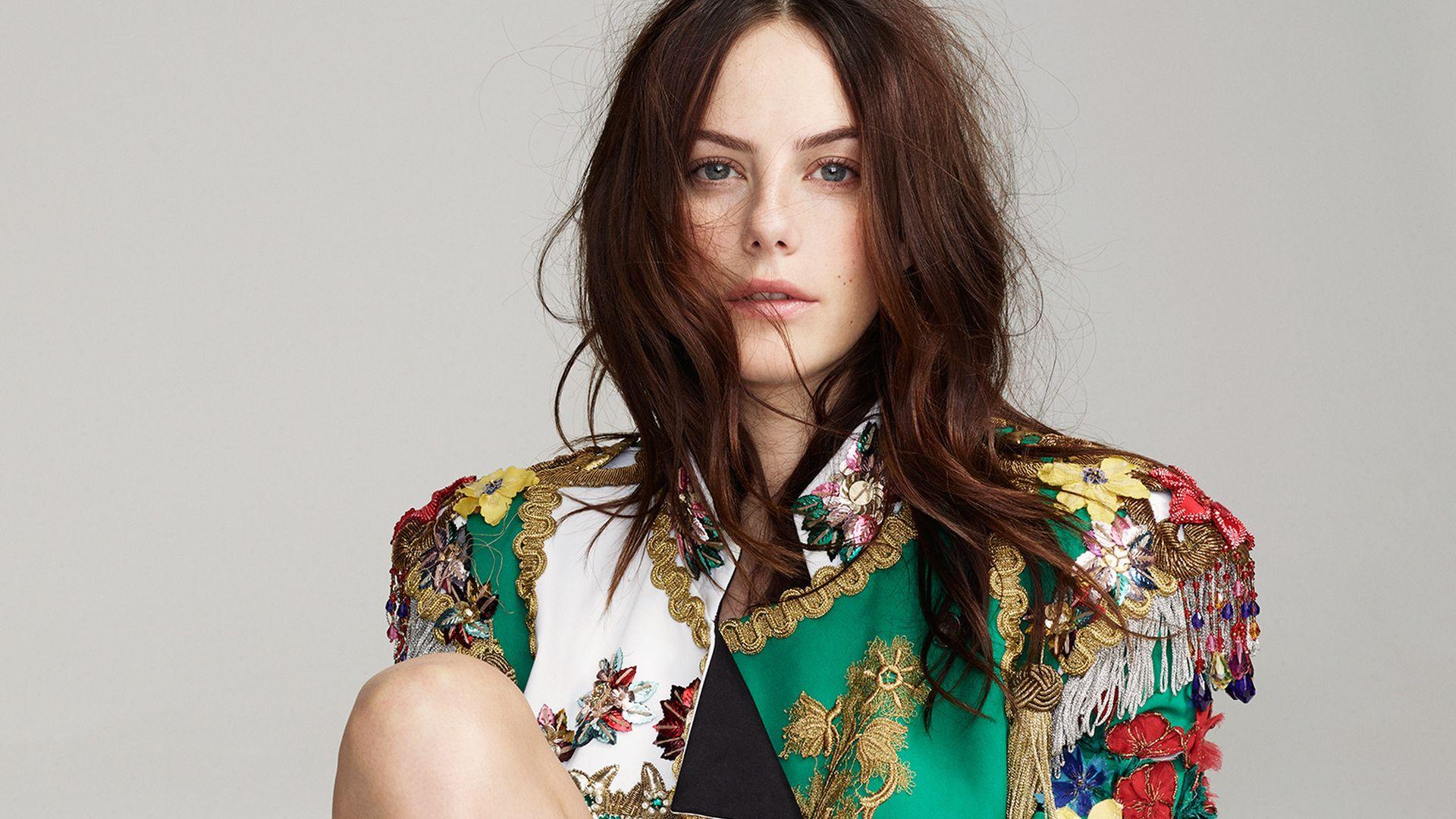 Wallpaper Beautiful actress, red head, Kaya Scodelario