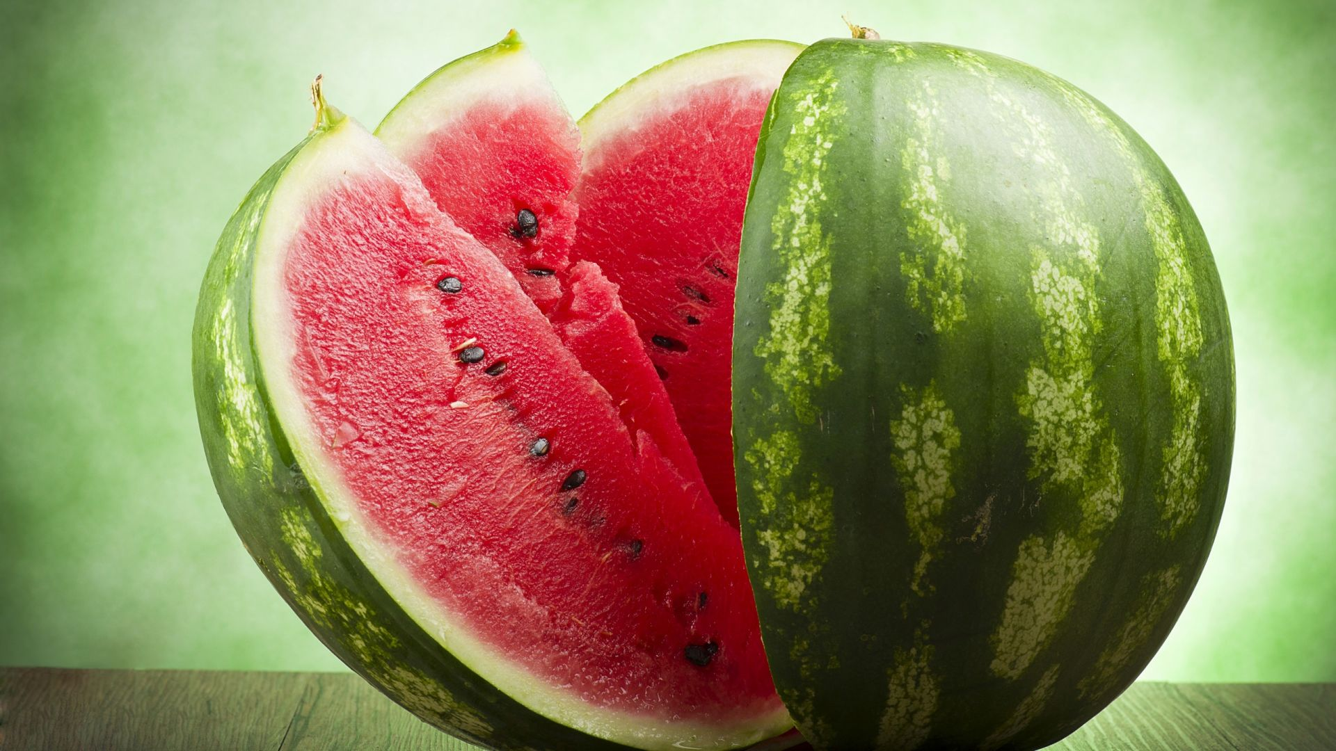 Wallpaper Watermelon, fruits, slices