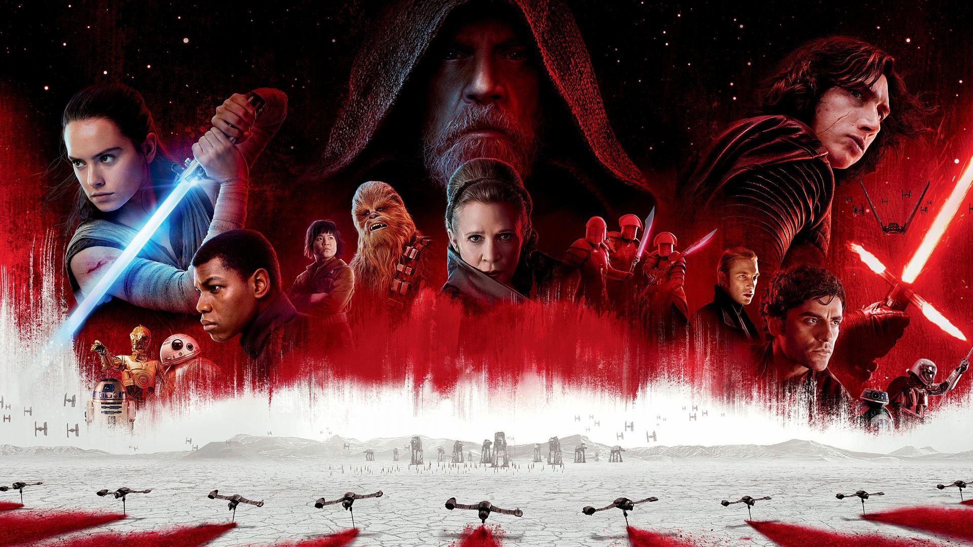 Desktop Wallpaper Star Wars The Last Jedi Movie Poster 2017 8k Hd Image Picture Background 2f9f87