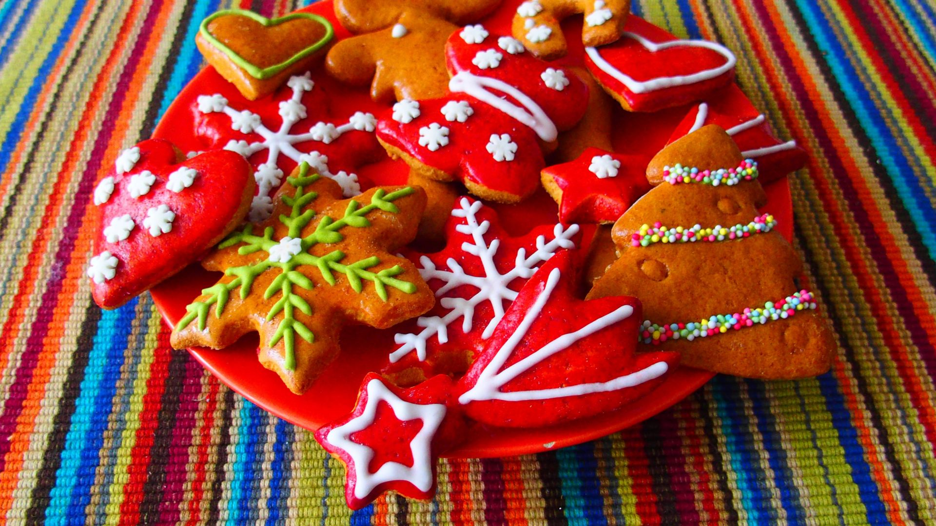 Christmas Cookies Wallpaper.Desktop Wallpaper Christmas Cookies Hd Image Picture