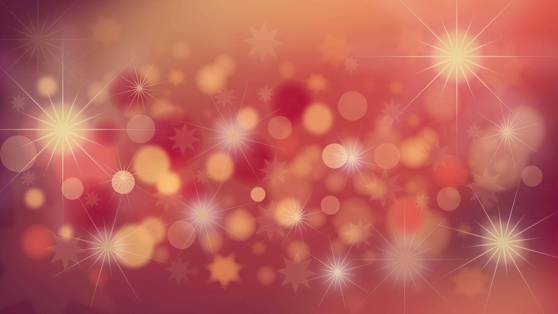 Wallpaper Abstract, bokeh, glitter, celebrations, 5k