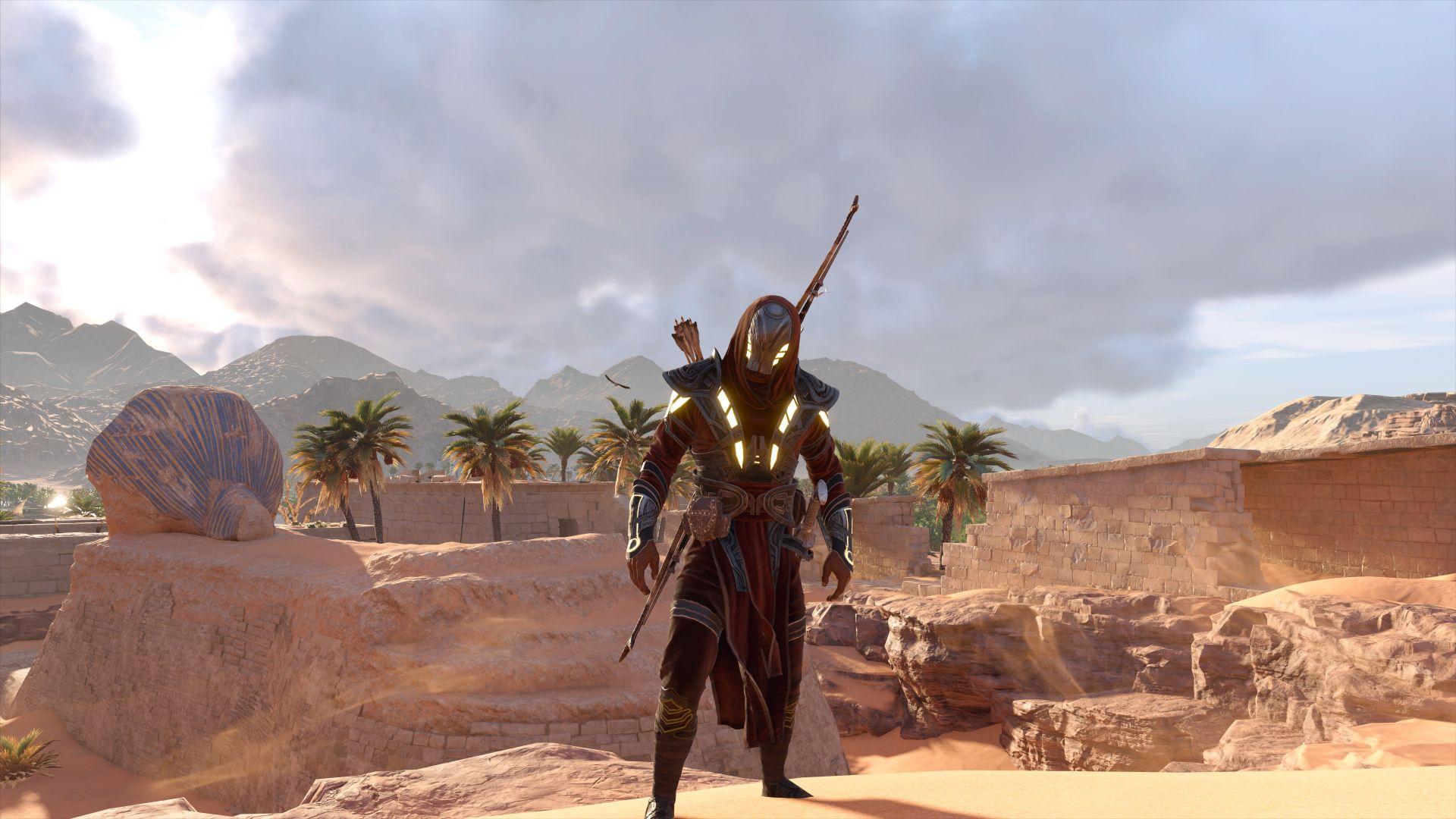 Desktop Wallpaper Assassin's Creed Origins, Desert, Video
