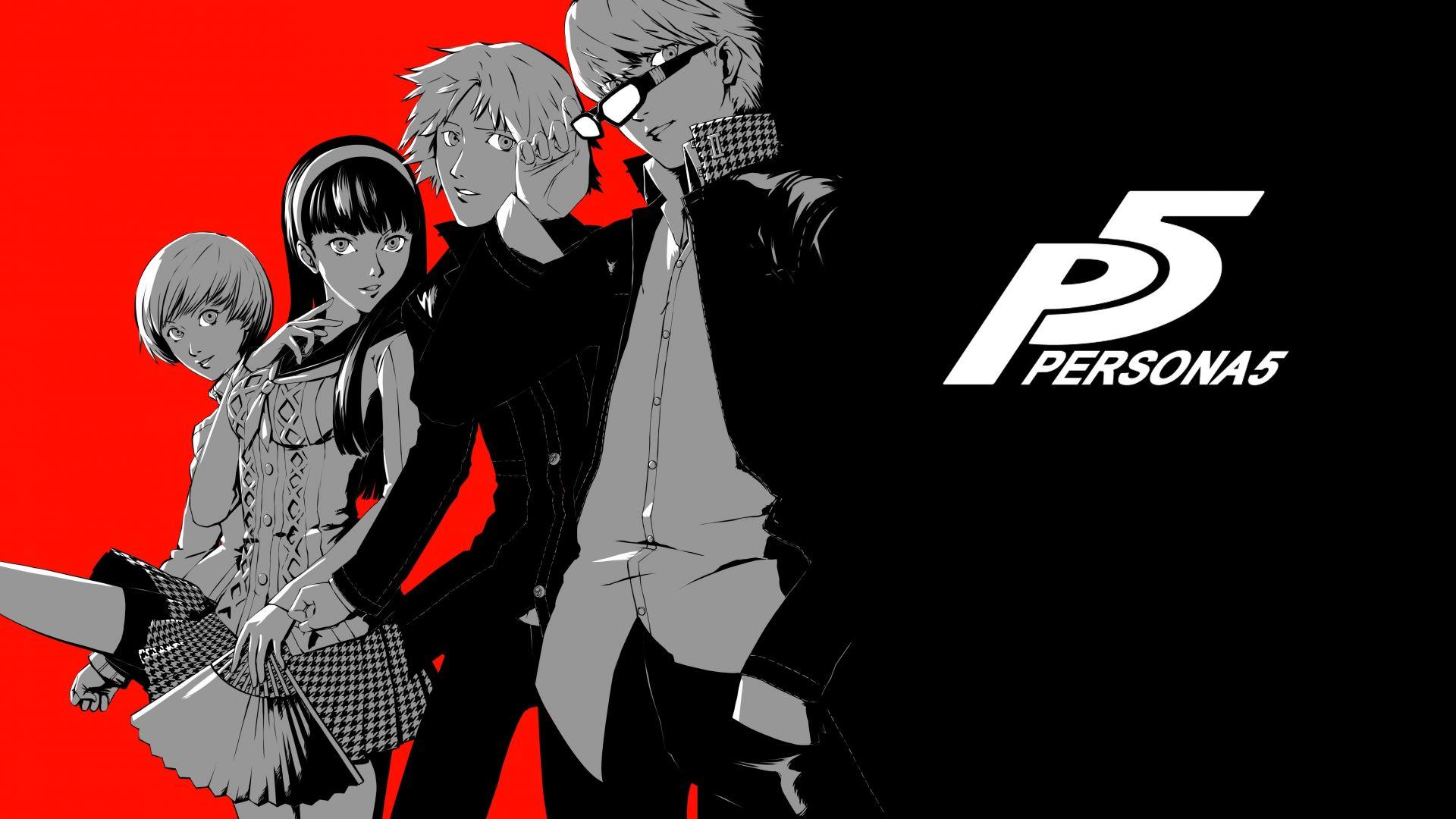 Persona 5, video game, anime, 5k Wallpaper
