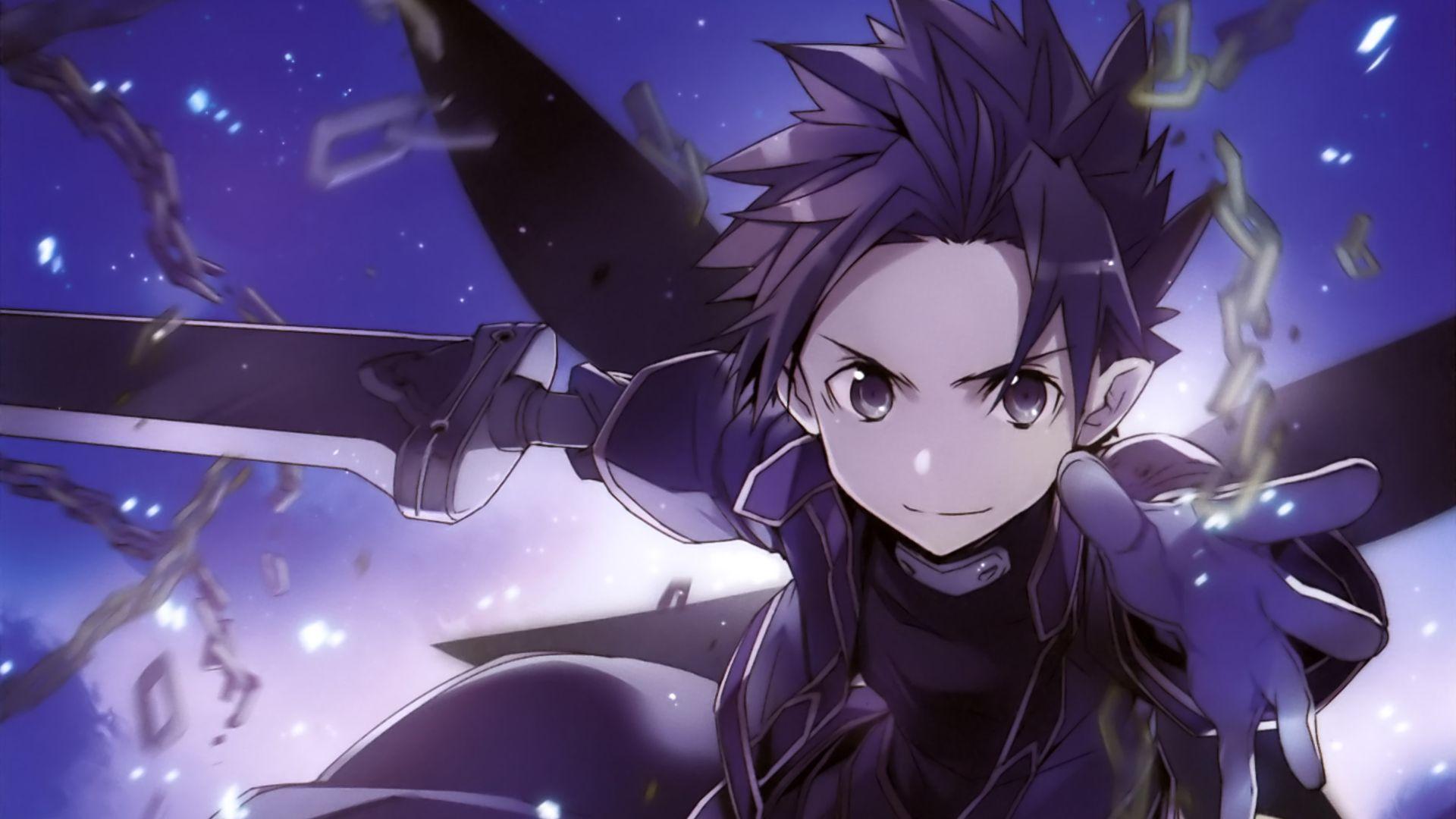 Kirito, Sword Art Online, anime, SAO Wallpaper