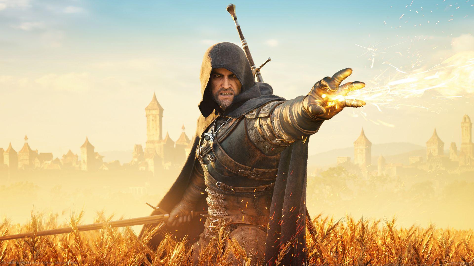 Wallpaper Geralt of Rivia, hunter, video game