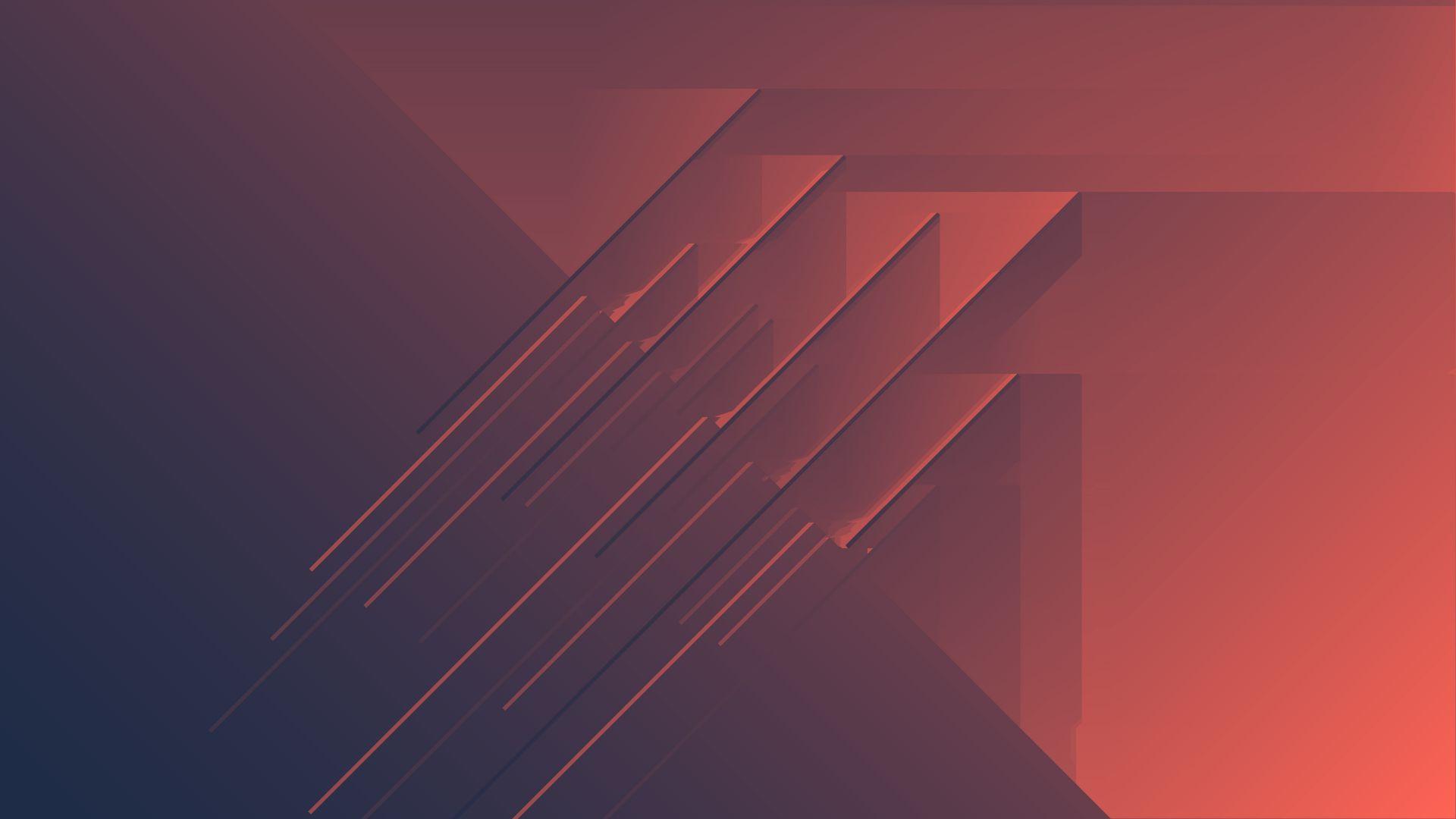 Wallpaper Abstract, minimalism, stripes, pattern, 4k