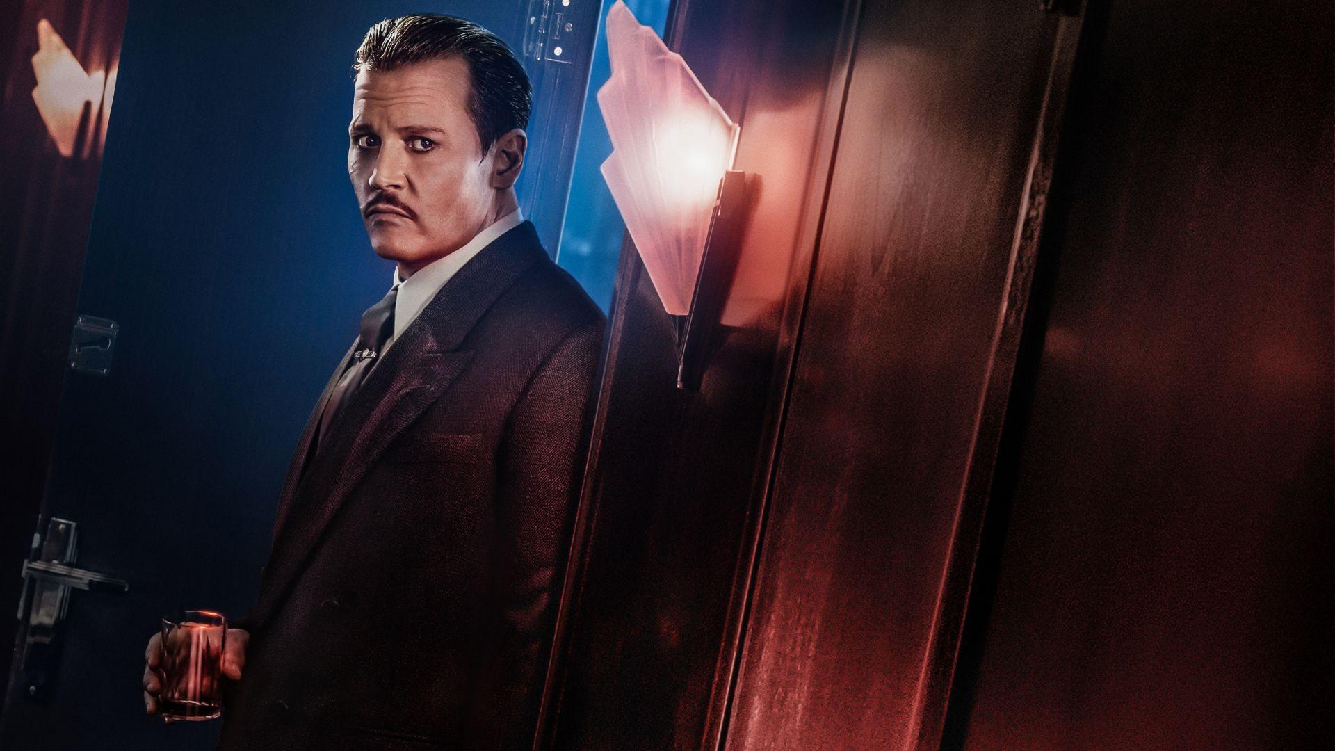 Wallpaper Johnny Depp, Ratchett, Murder on the orient express, 2017 movie
