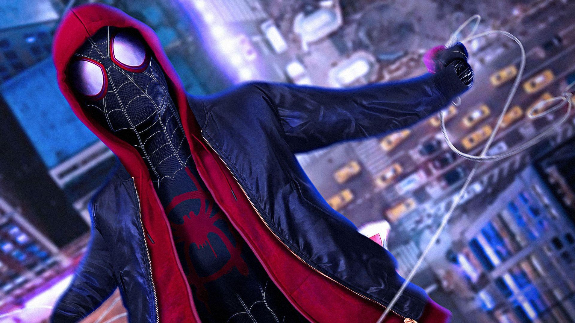 2048x2048 The Incredibles 2 Movie 2018 Ipad Air Hd 4k: Desktop Wallpaper Spider Man: Into The Spider Verse, Movie
