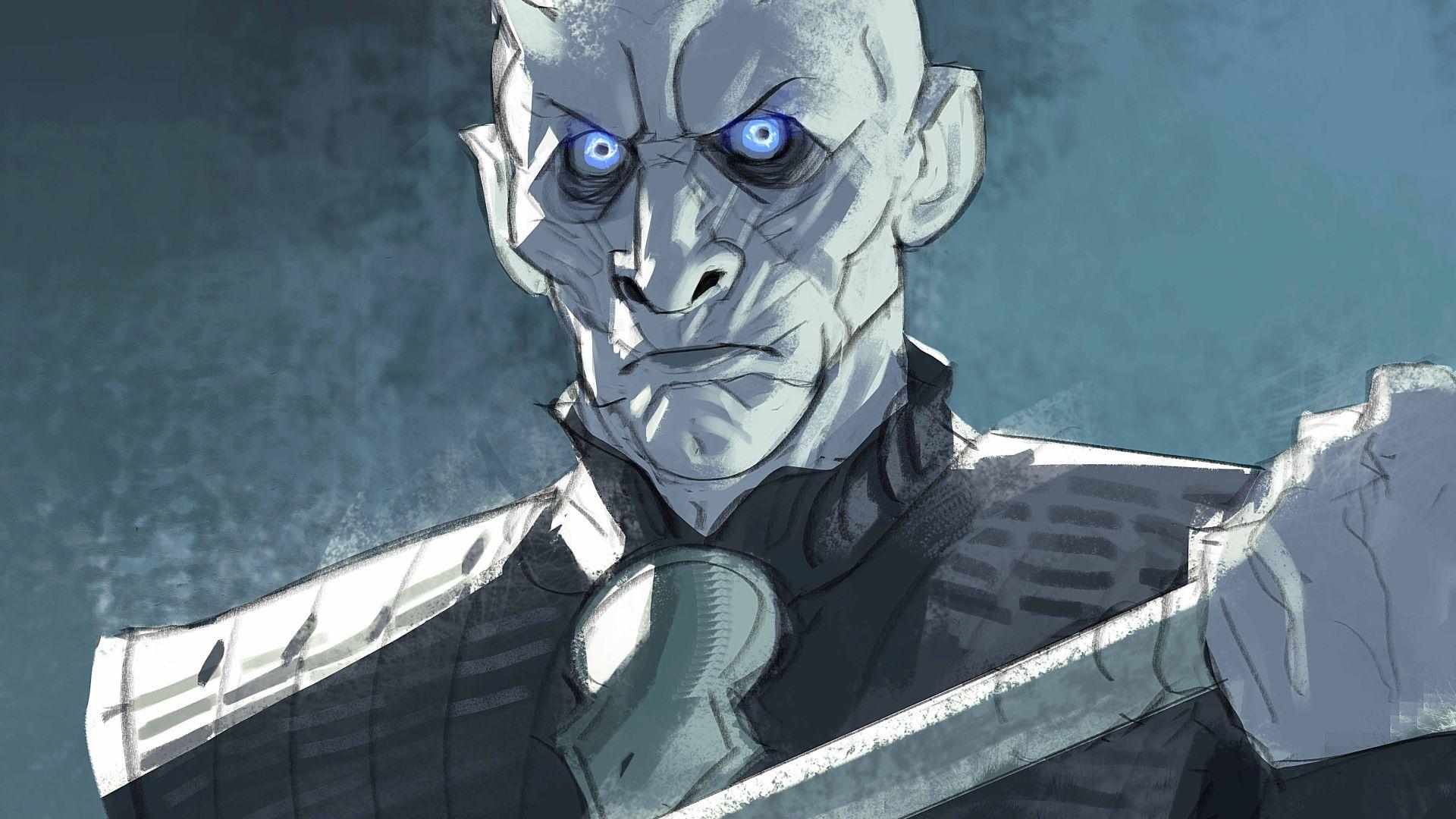 Desktop Wallpaper Night King White Walkers Game Of Thrones Fan