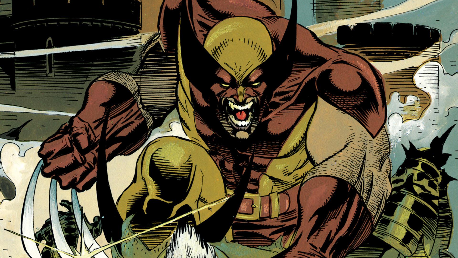 Wallpaper Wolverine, x-men, marvel comics