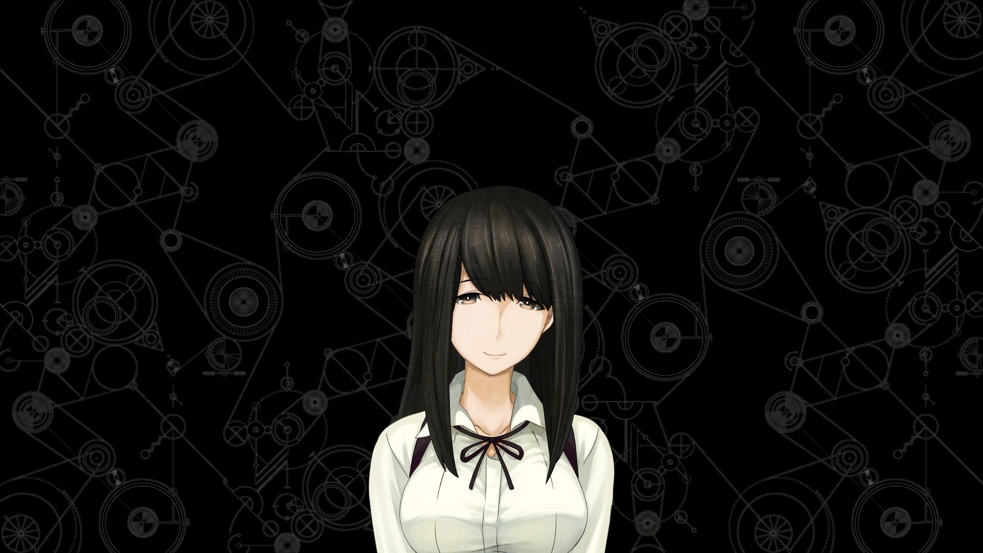 Wallpaper Kurushima kaede anime girl