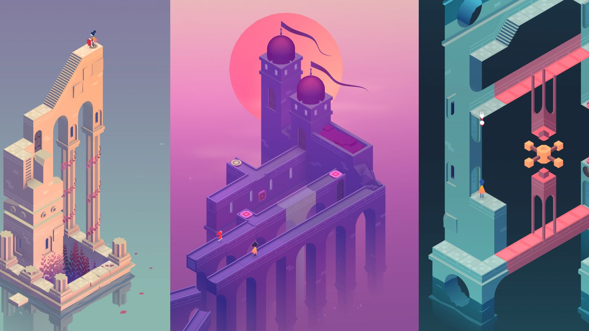 Wallpaper Monument valley 2, gaming, video