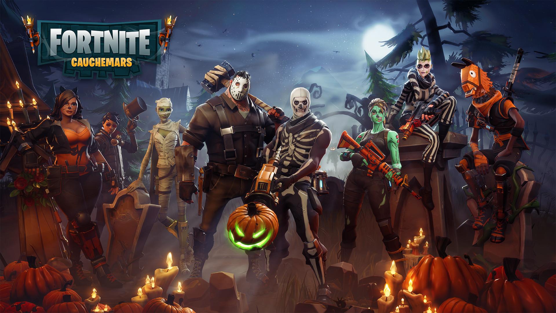 Fortnite characters game
